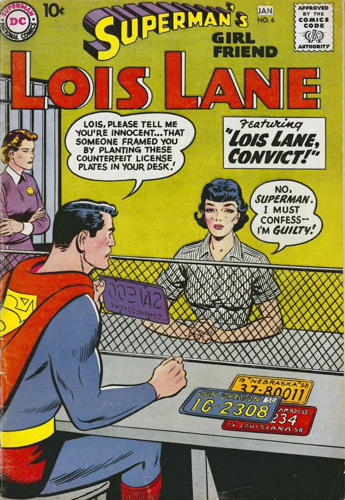 Supermans Girl Friend, Lois Lane 6 Page 1