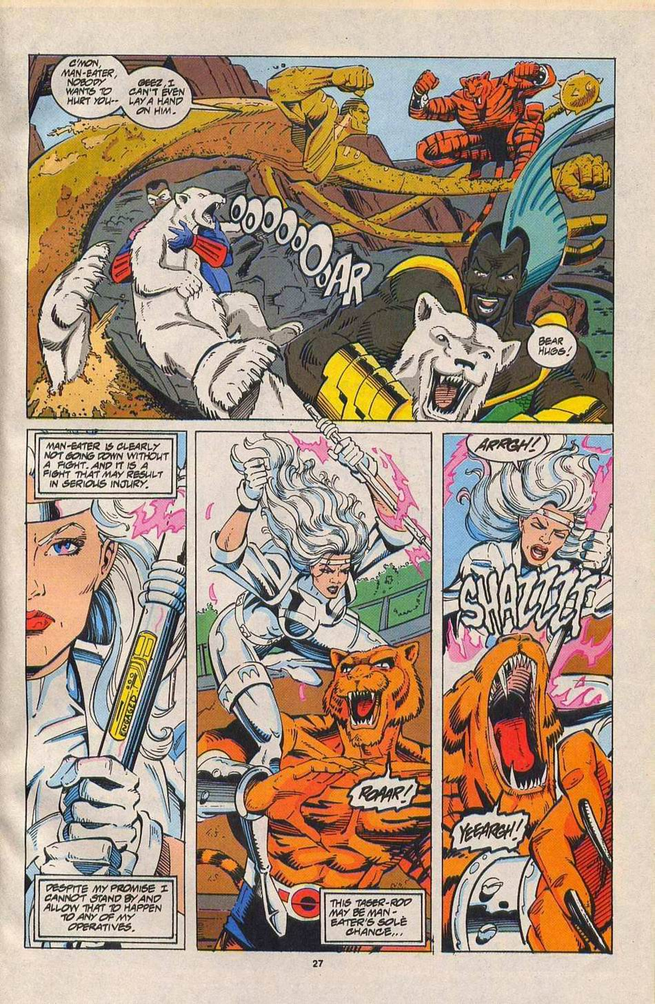Read online Silver Sable and the Wild Pack comic -  Issue #27 - 21