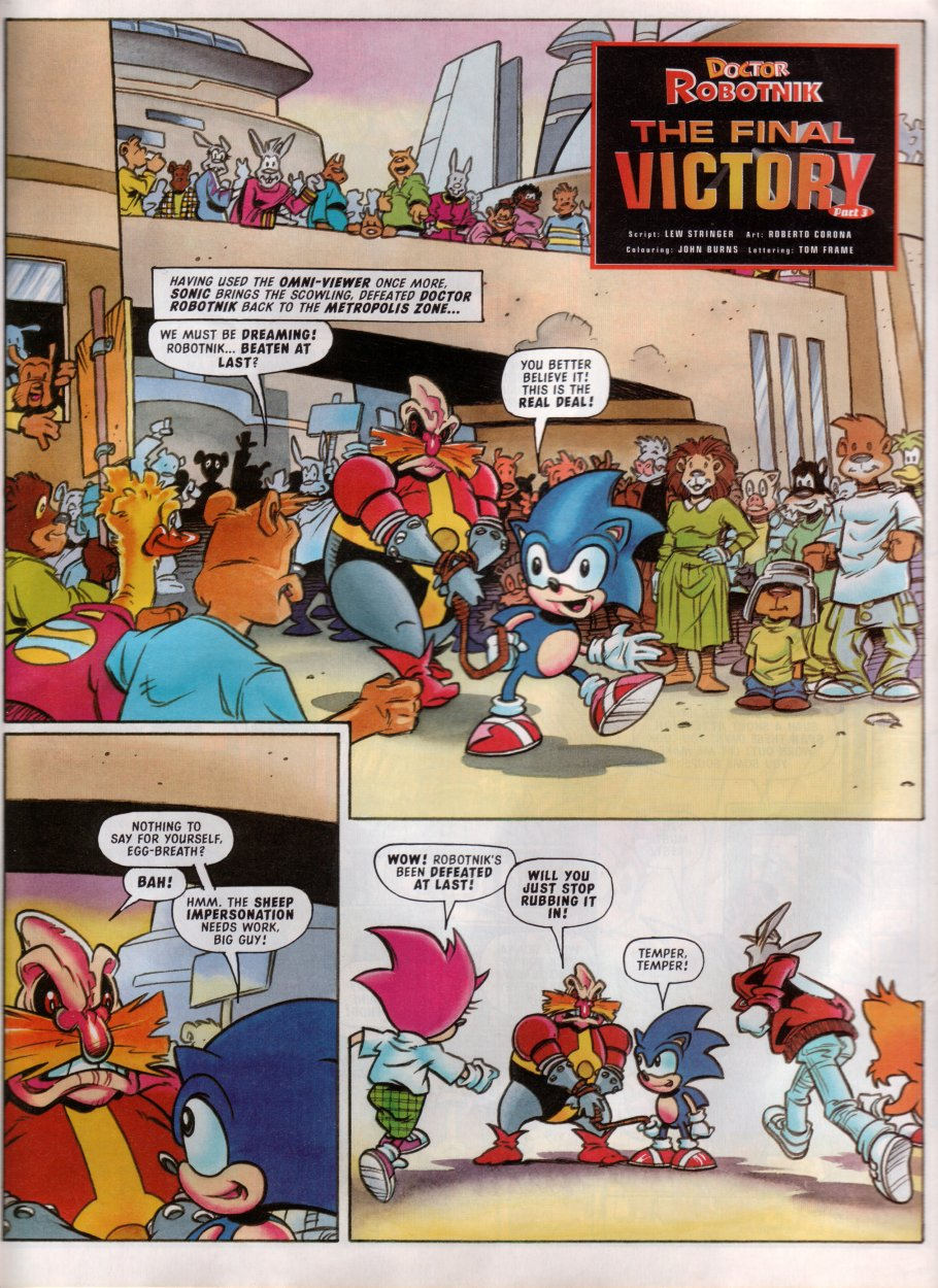 Read online Sonic the Comic comic -  Issue #100 - 15