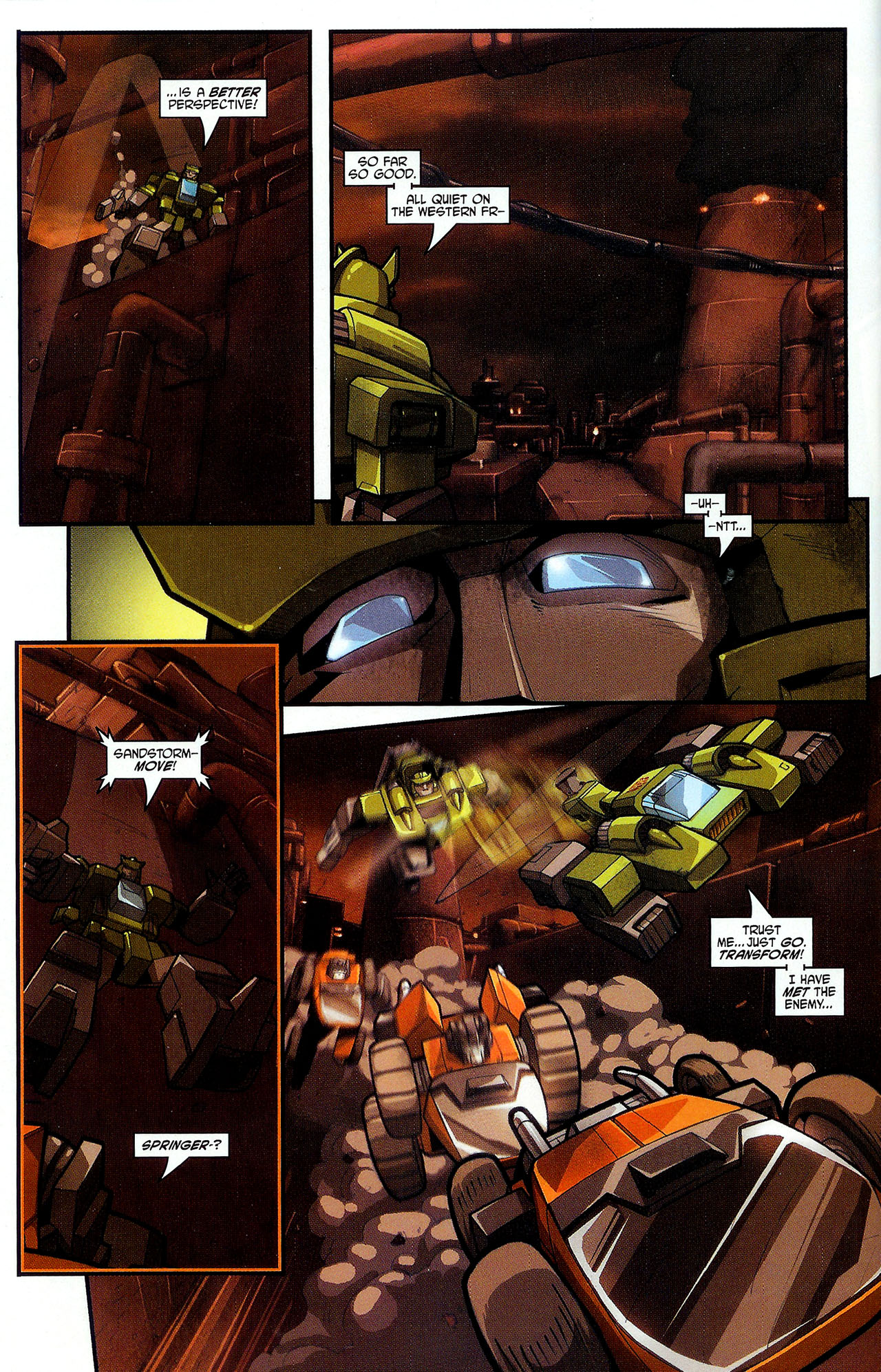 """Read online Transformers War Within: """"The Dark Ages"""" comic -  Issue #2 - 8"""