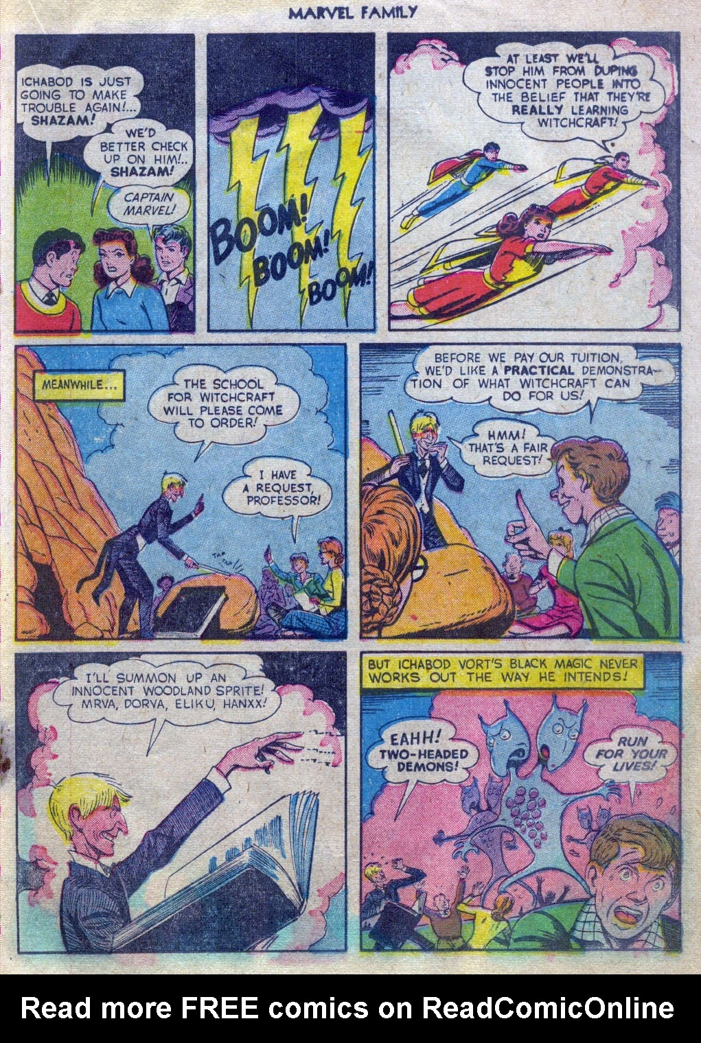 The Marvel Family issue 52 - Page 18