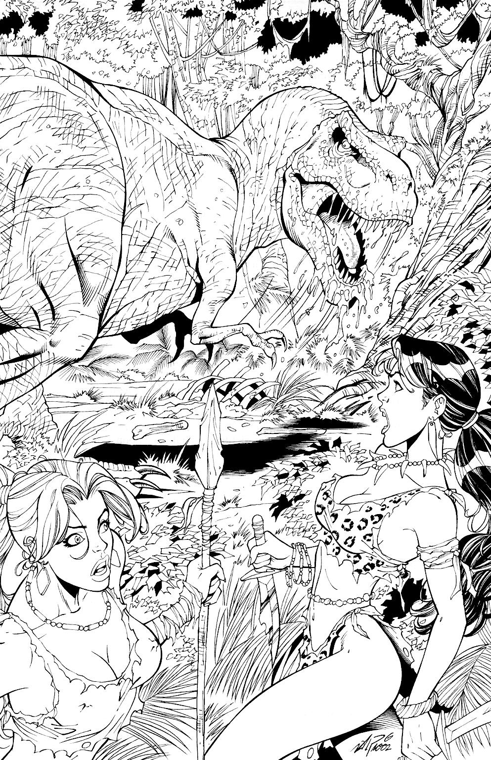 Read online Jungle Fantasy (2002) comic -  Issue #1 - 17