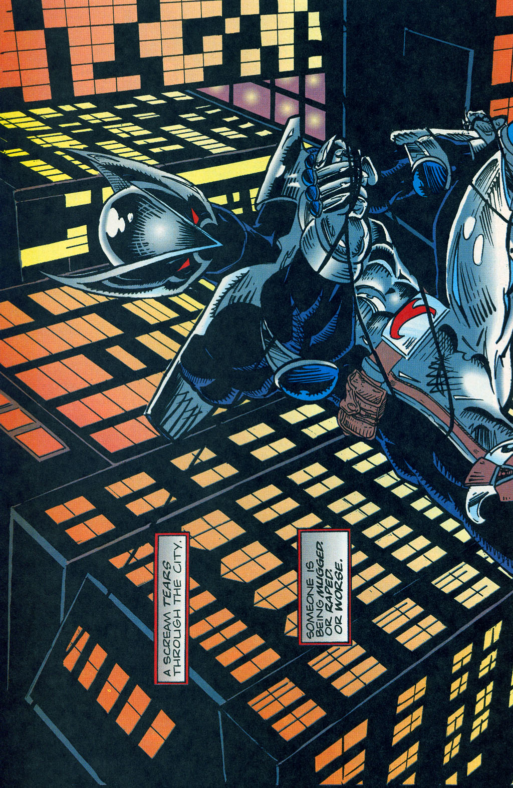 Read online ShadowHawk comic -  Issue #1 - 26