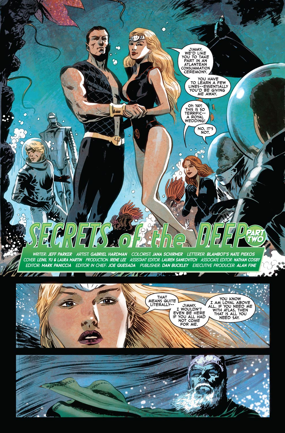 Read online Agents Of Atlas (2009) comic -  Issue #7 - 5