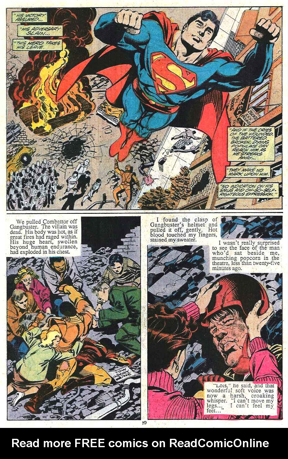 Read online Adventures of Superman (1987) comic -  Issue #437 - 19