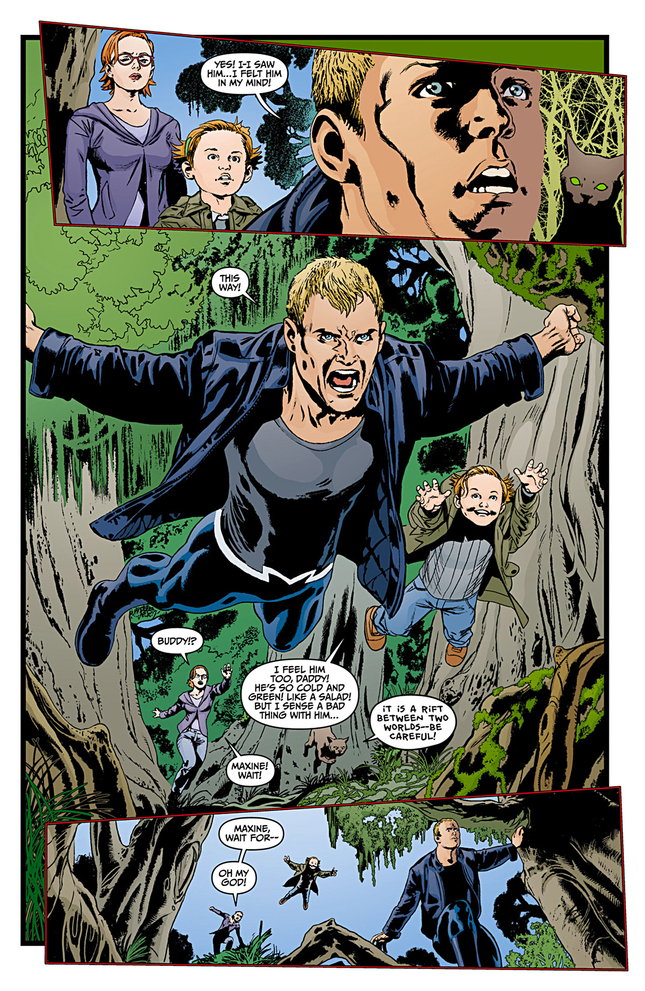 Read online Animal Man (2011) comic -  Issue #12 - 7