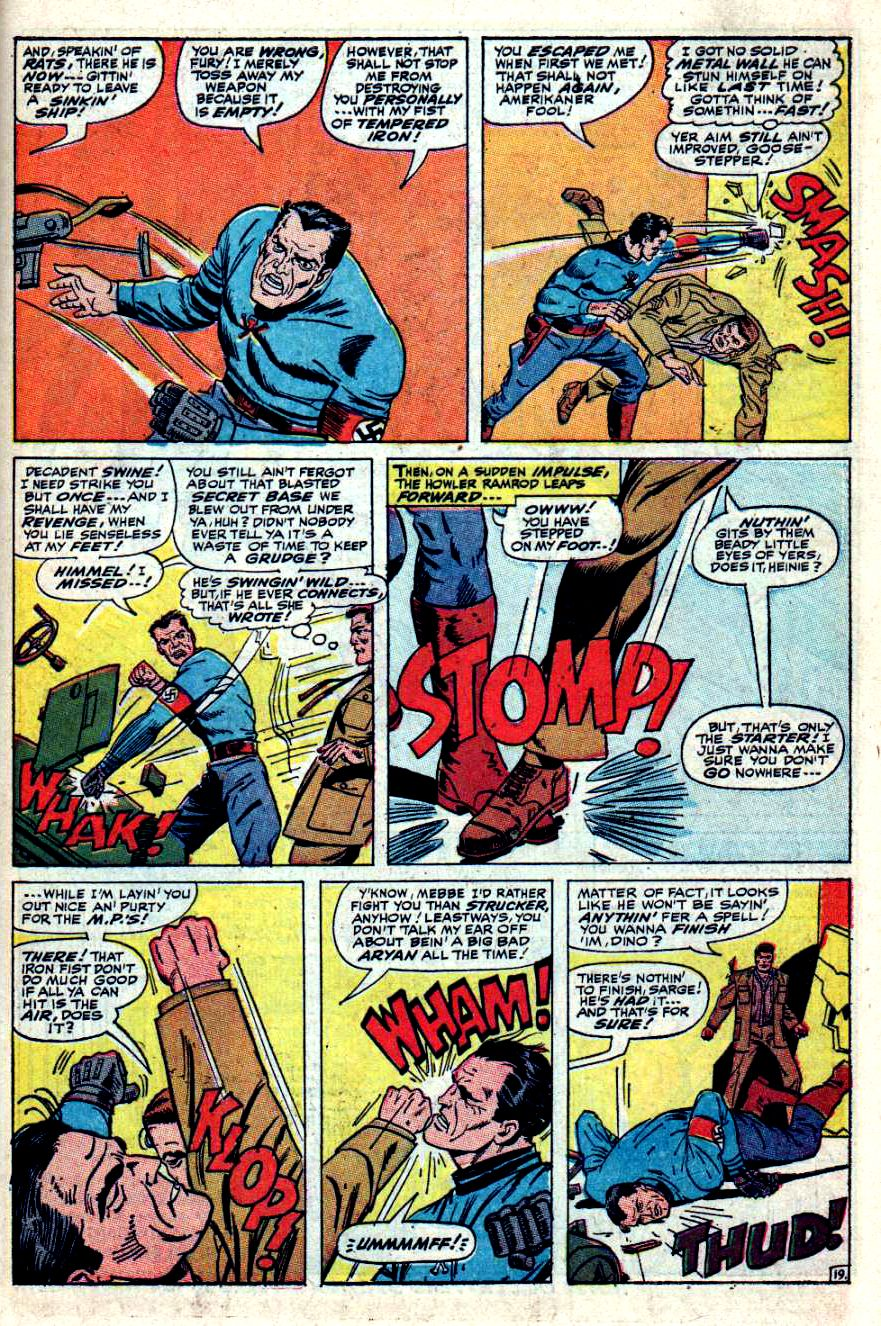 Read online Sgt. Fury comic -  Issue #41 - 27