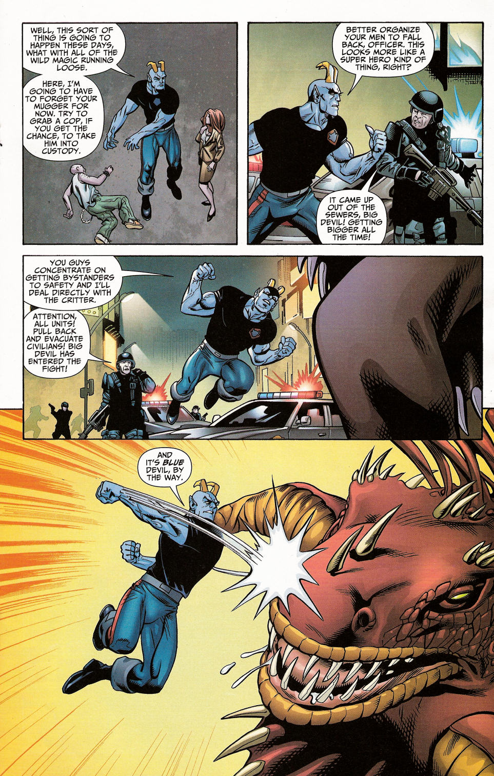 Read online Shadowpact comic -  Issue #4 - 19