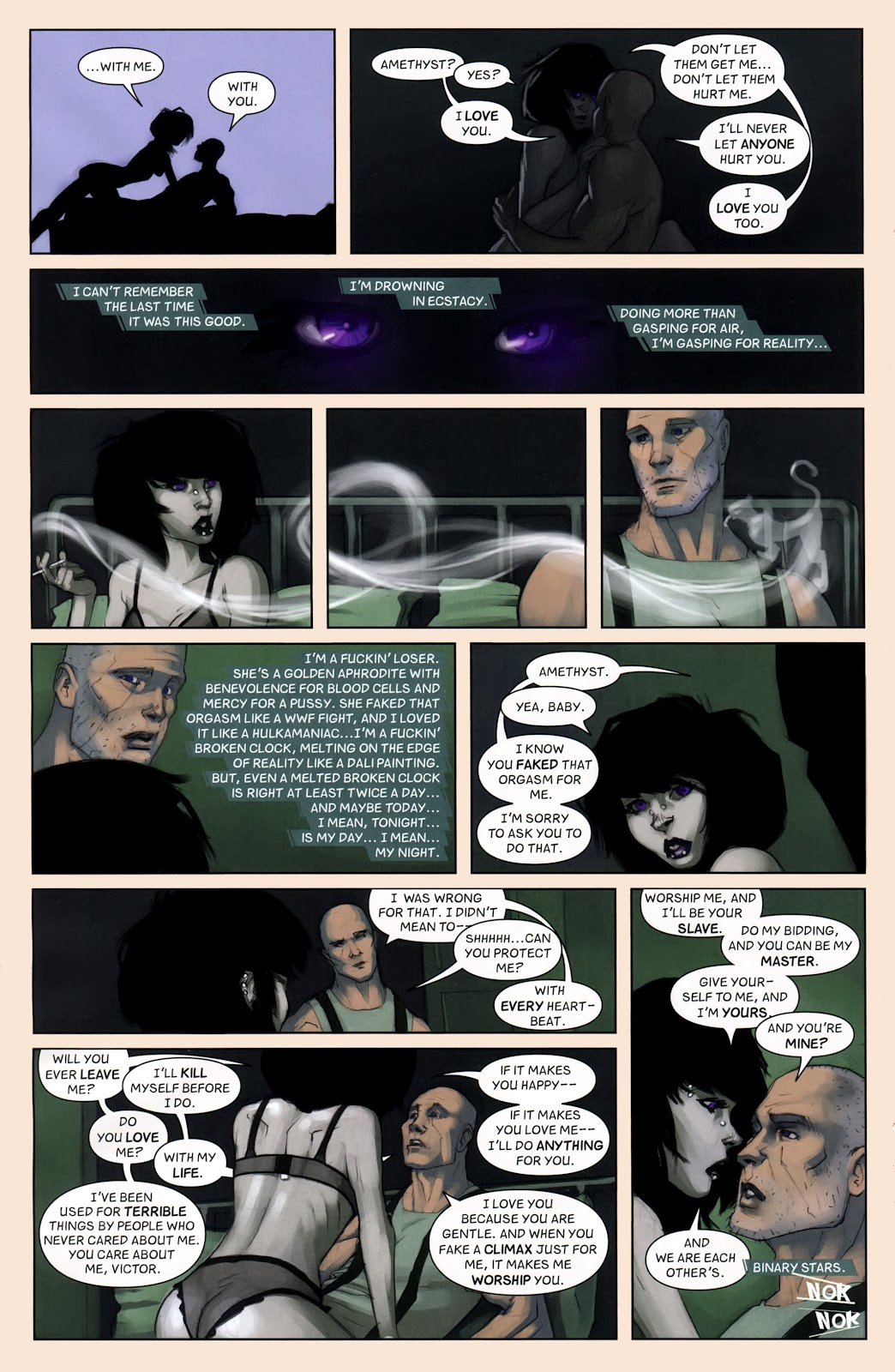 Read online Vescell comic -  Issue #7 - 16