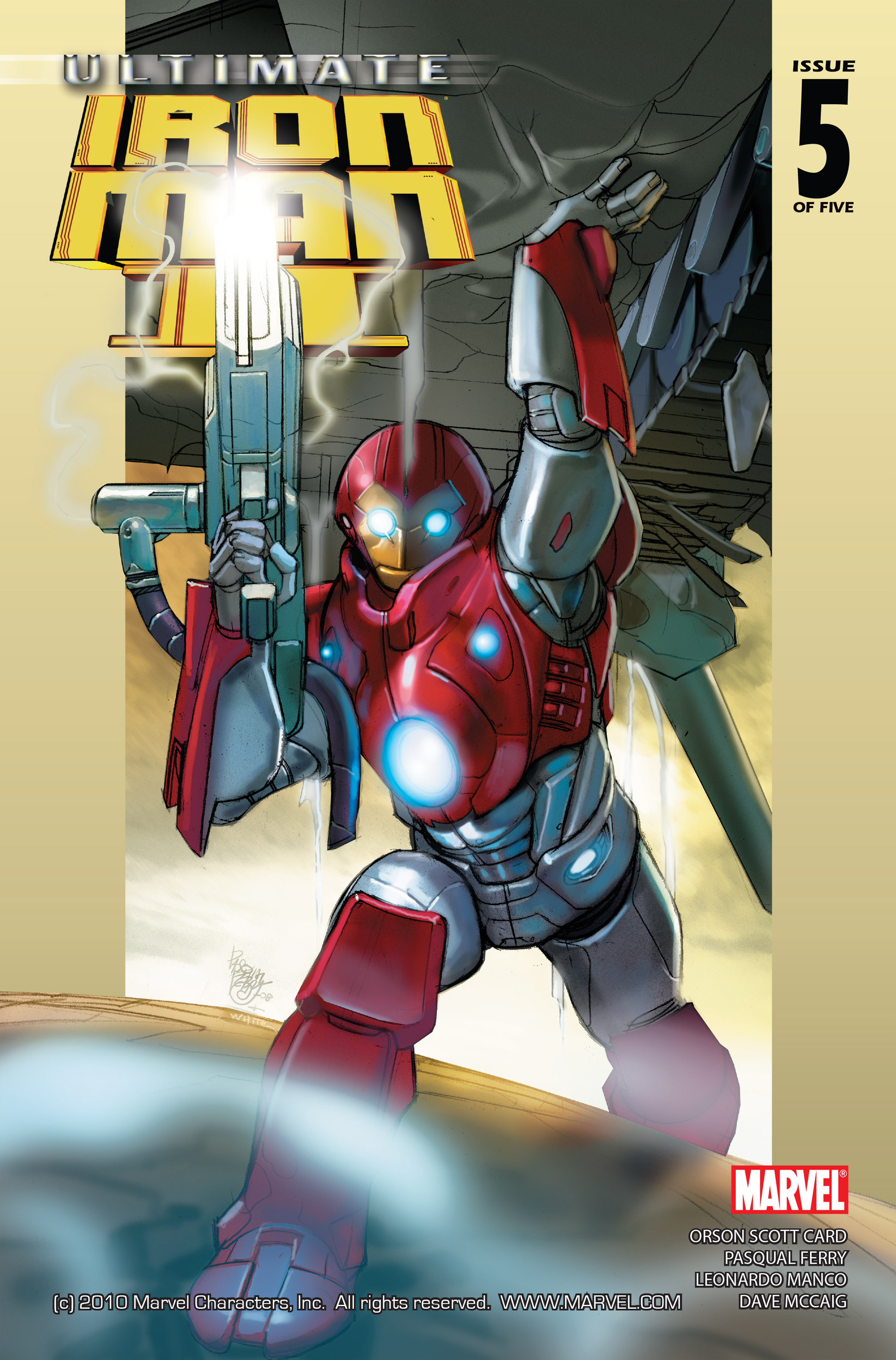 Read online Ultimate Iron Man II comic -  Issue #5 - 1