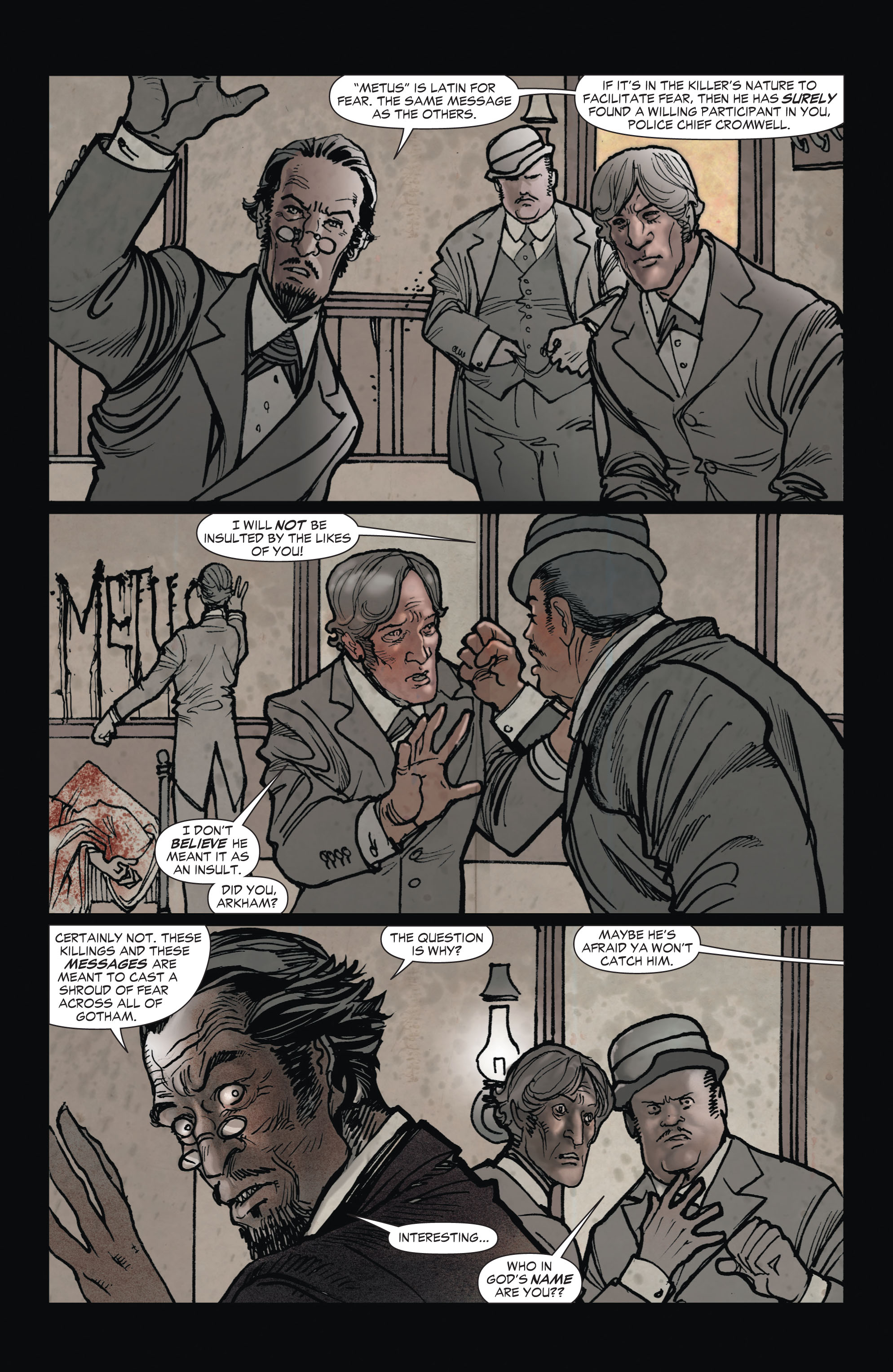 Read online All-Star Western (2011) comic -  Issue #1 - 8
