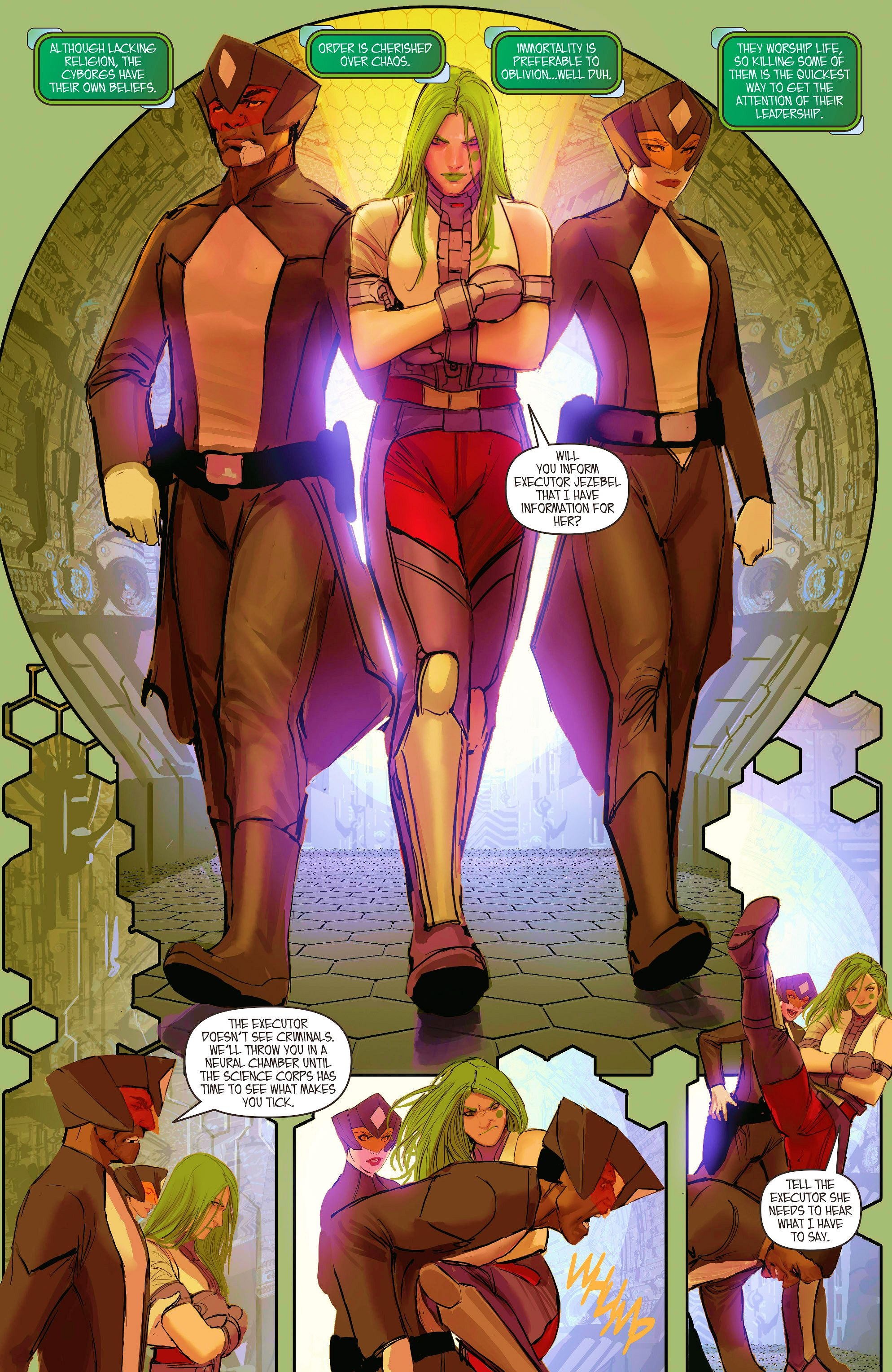 Read online Aphrodite IX (2013) comic -  Issue #8 - 11