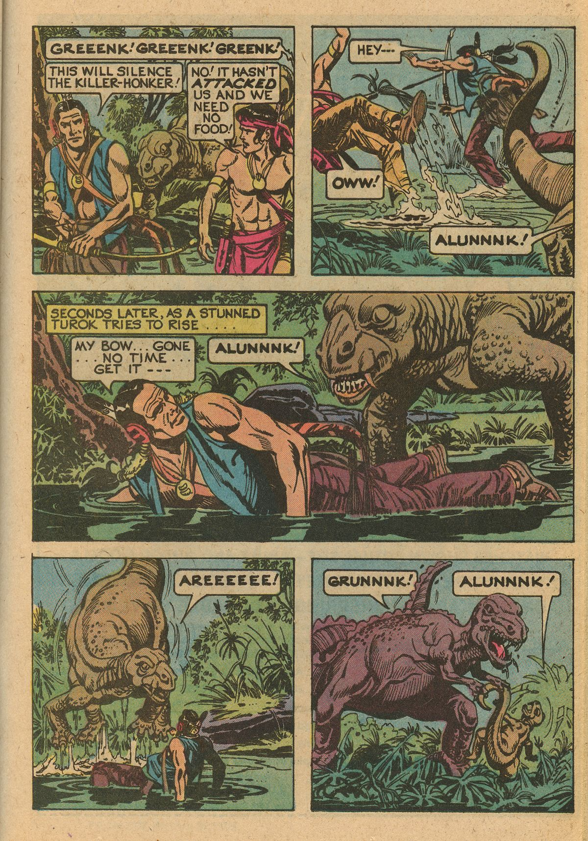 Read online Turok, Son of Stone comic -  Issue #115 - 37