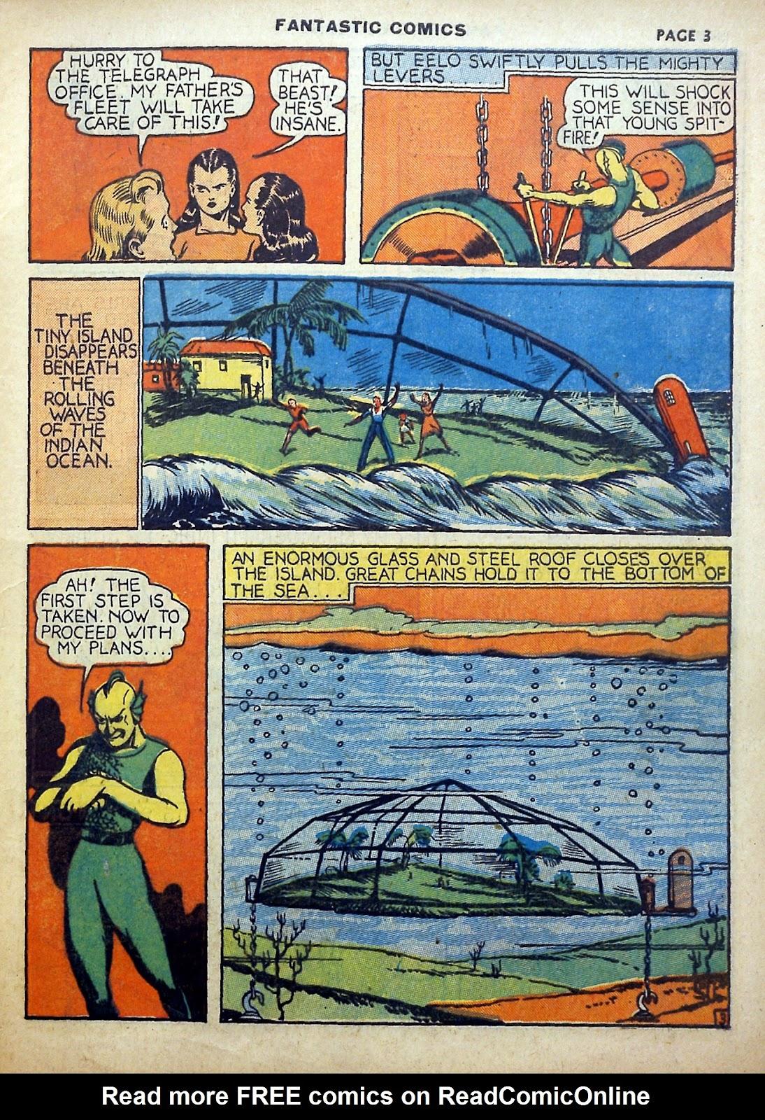 Read online Fantastic Comics comic -  Issue #5 - 4