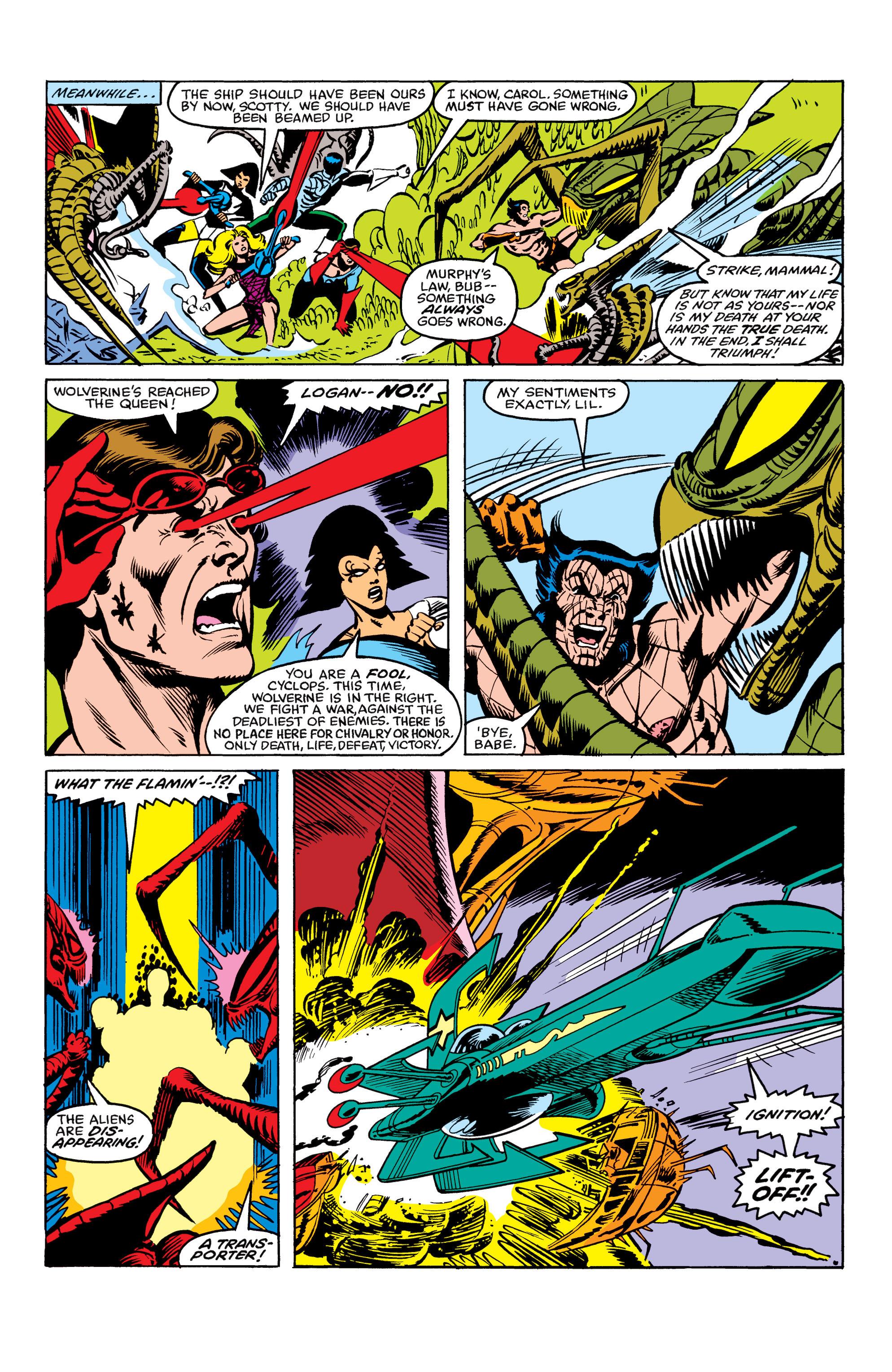 Read online Uncanny X-Men (1963) comic -  Issue #163 - 22