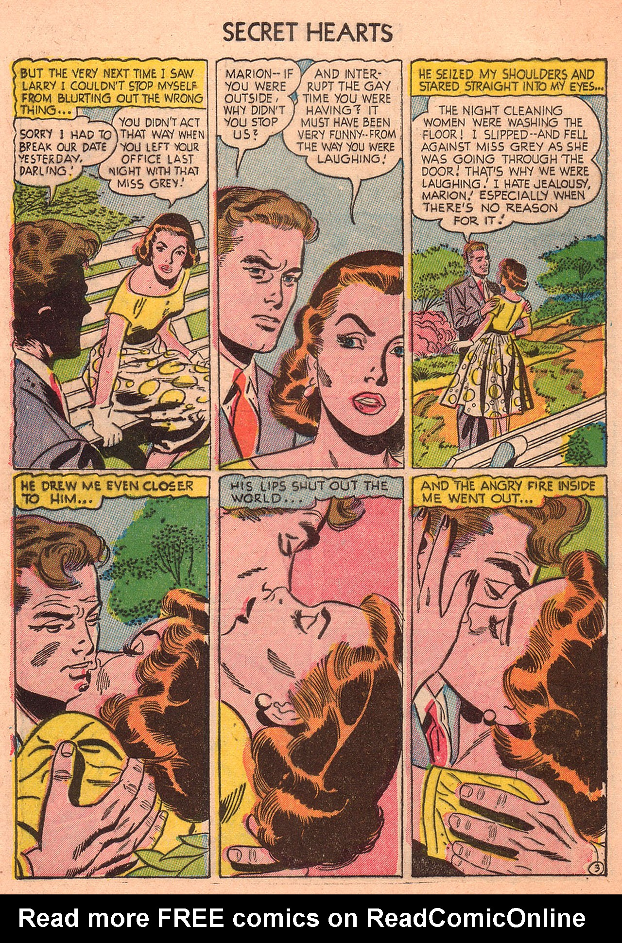 Read online Secret Hearts comic -  Issue #23 - 28