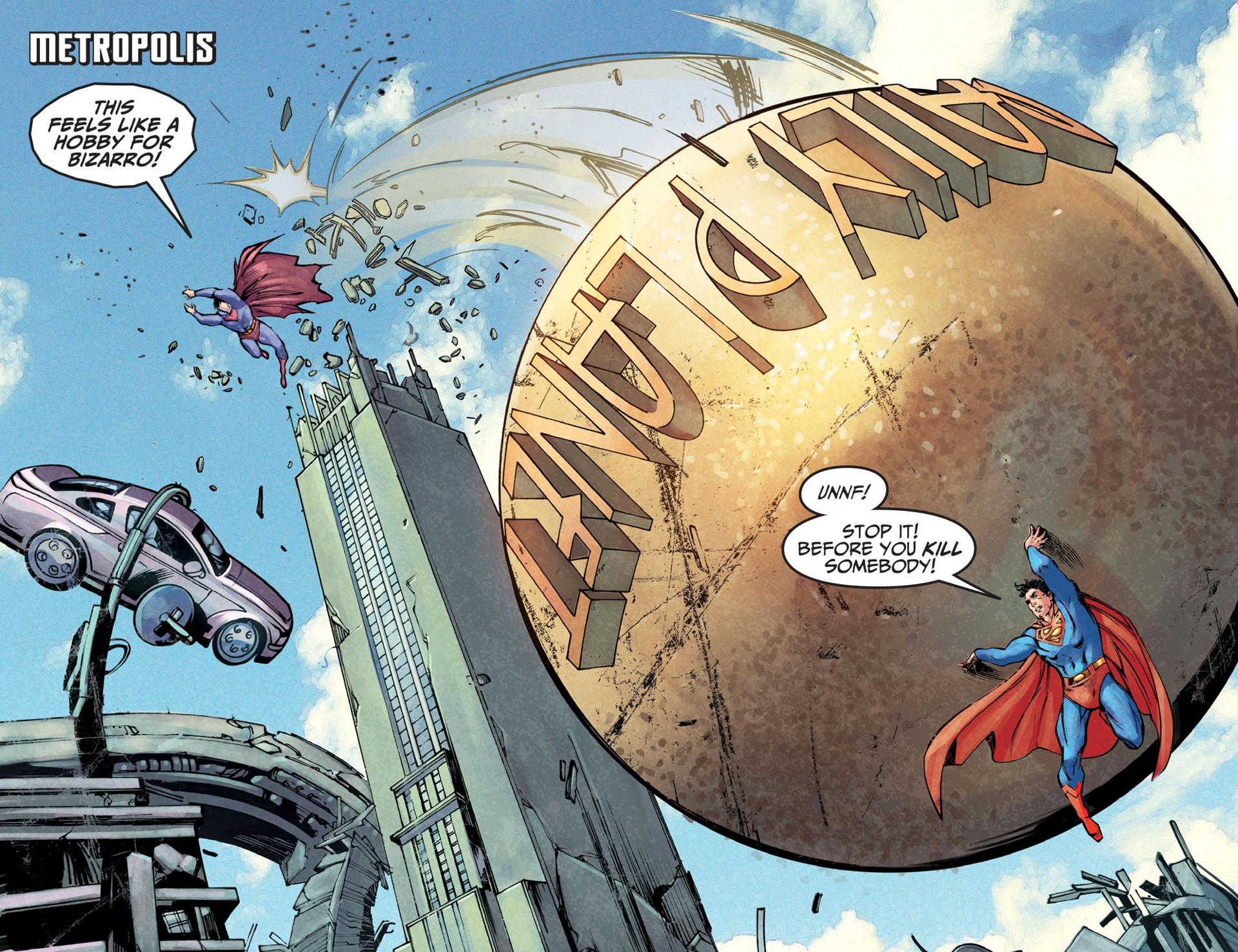 Read online Adventures of Superman [I] comic -  Issue #25 - 3