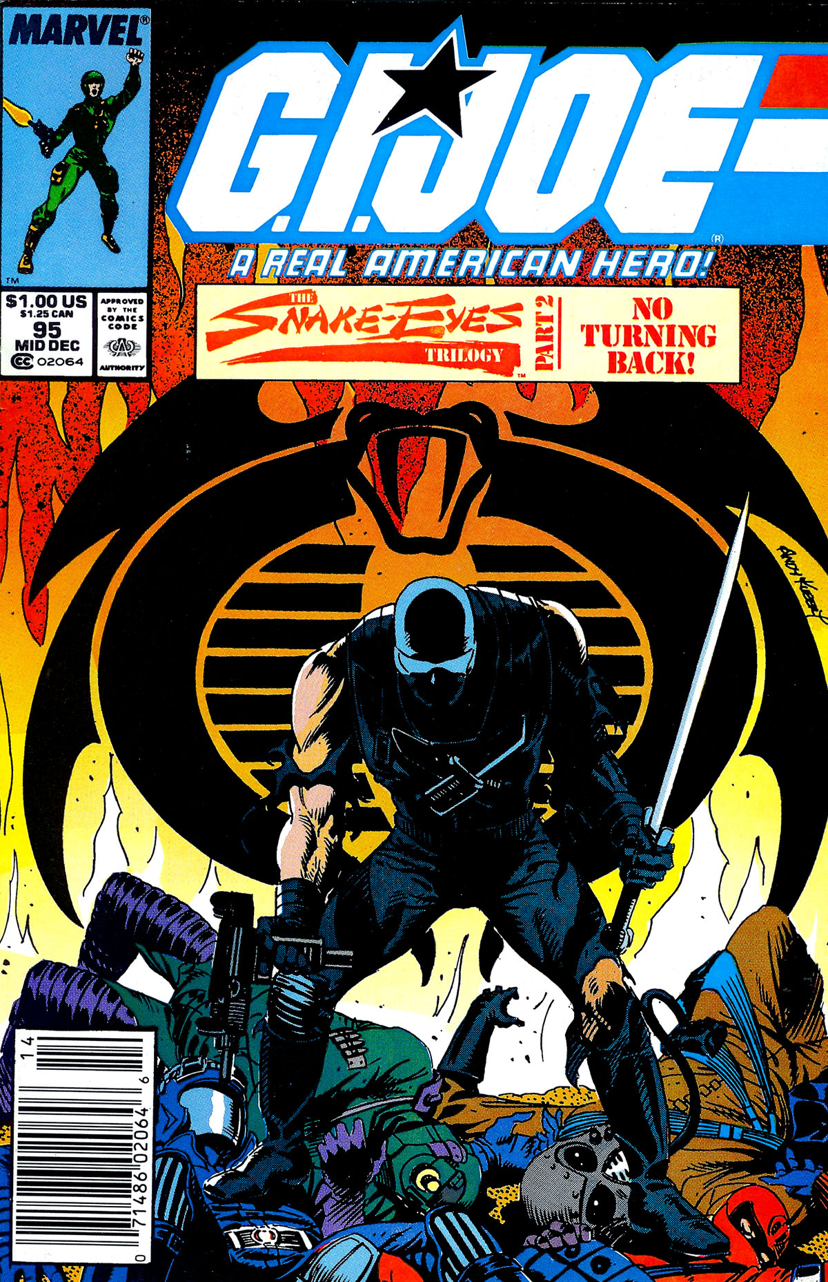 G.I. Joe: A Real American Hero 95 Page 1