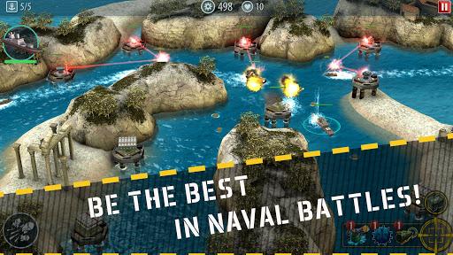 Game Hải Chiến Naval Rush Mod