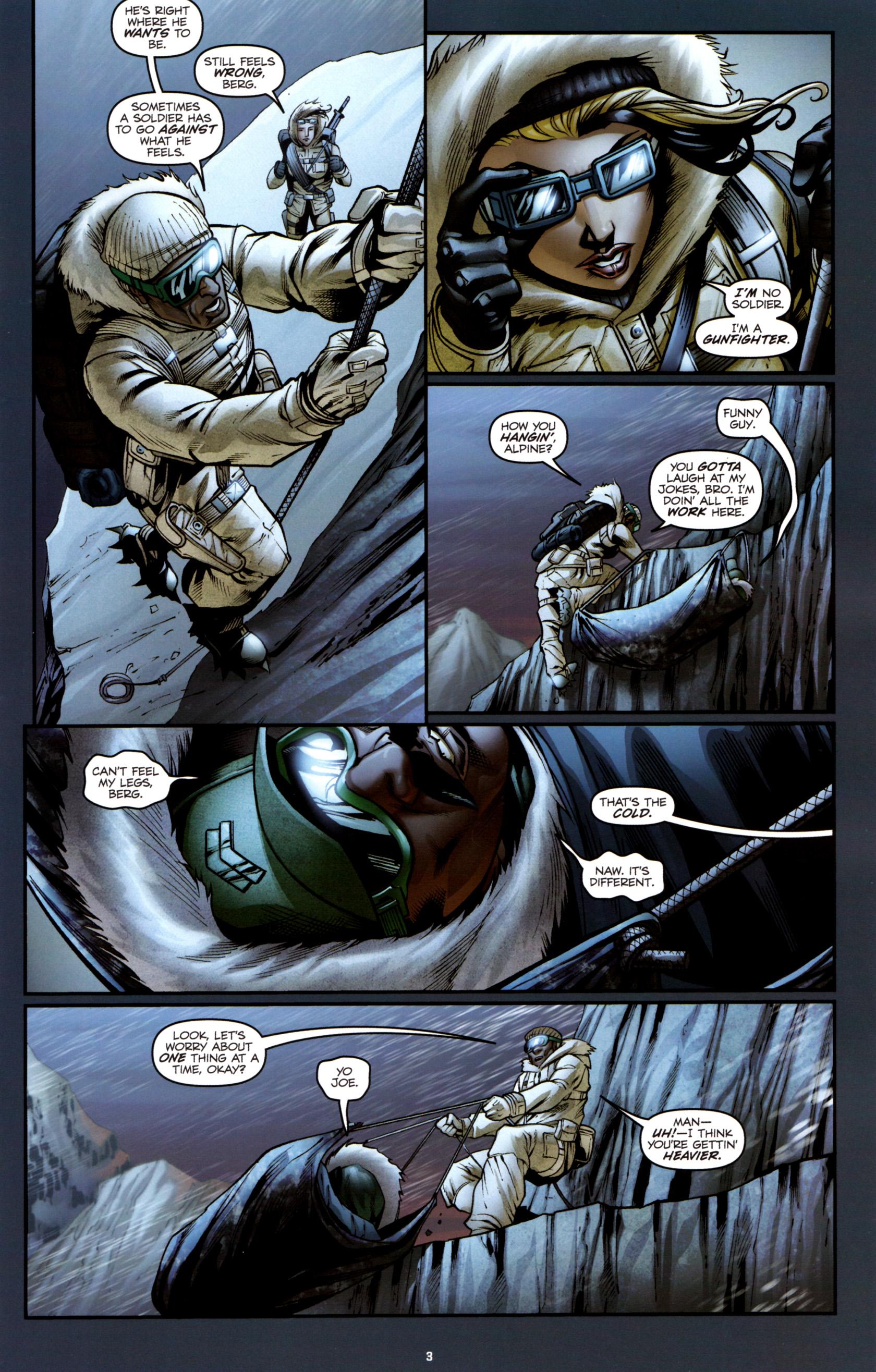 Read online G.I. Joe: Snake Eyes comic -  Issue #3 - 6
