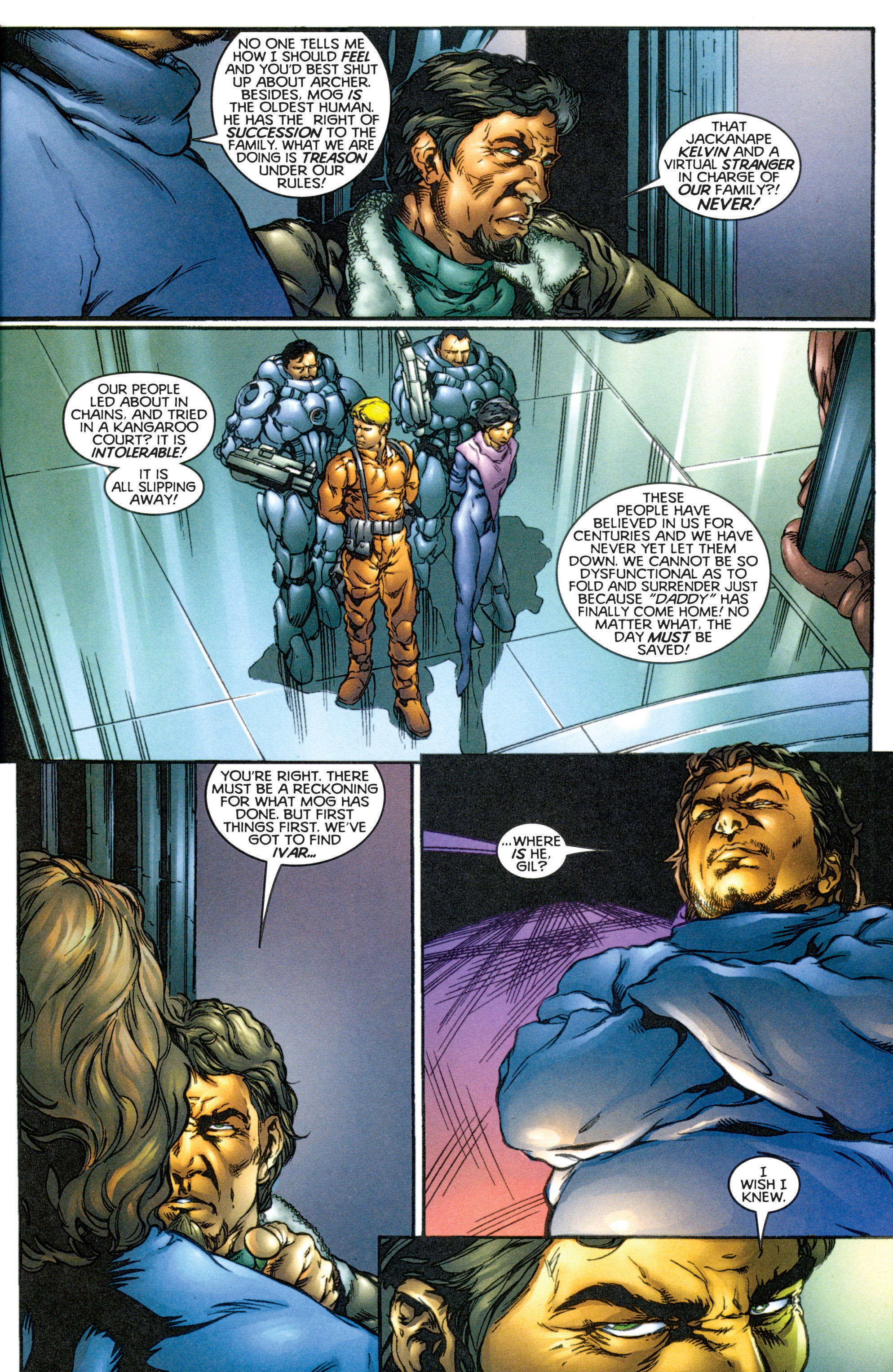 Read online Eternal Warriors comic -  Issue # Issue The Immortal Enemy - 6