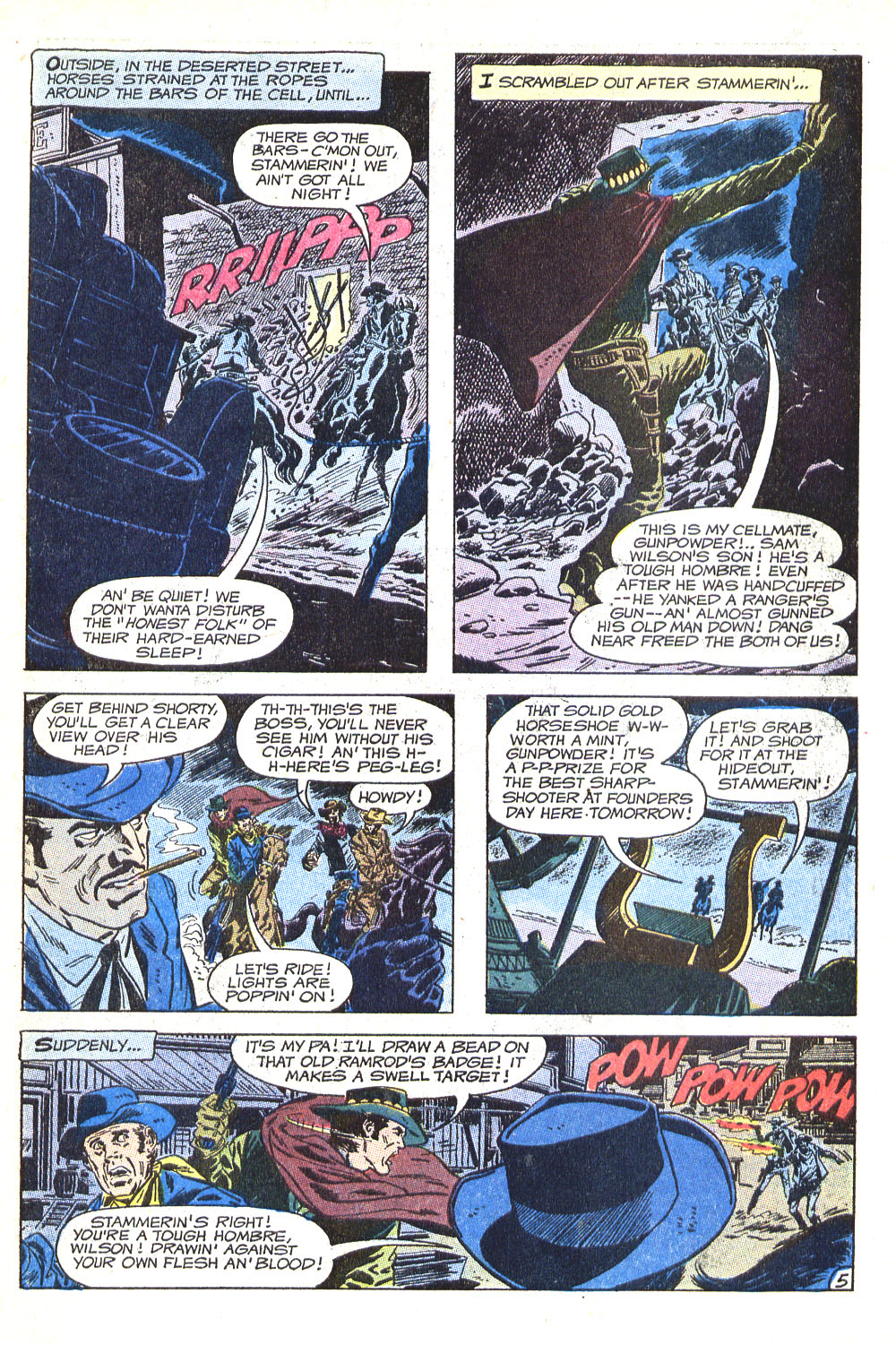 Read online All-Star Western (1970) comic -  Issue #5 - 7