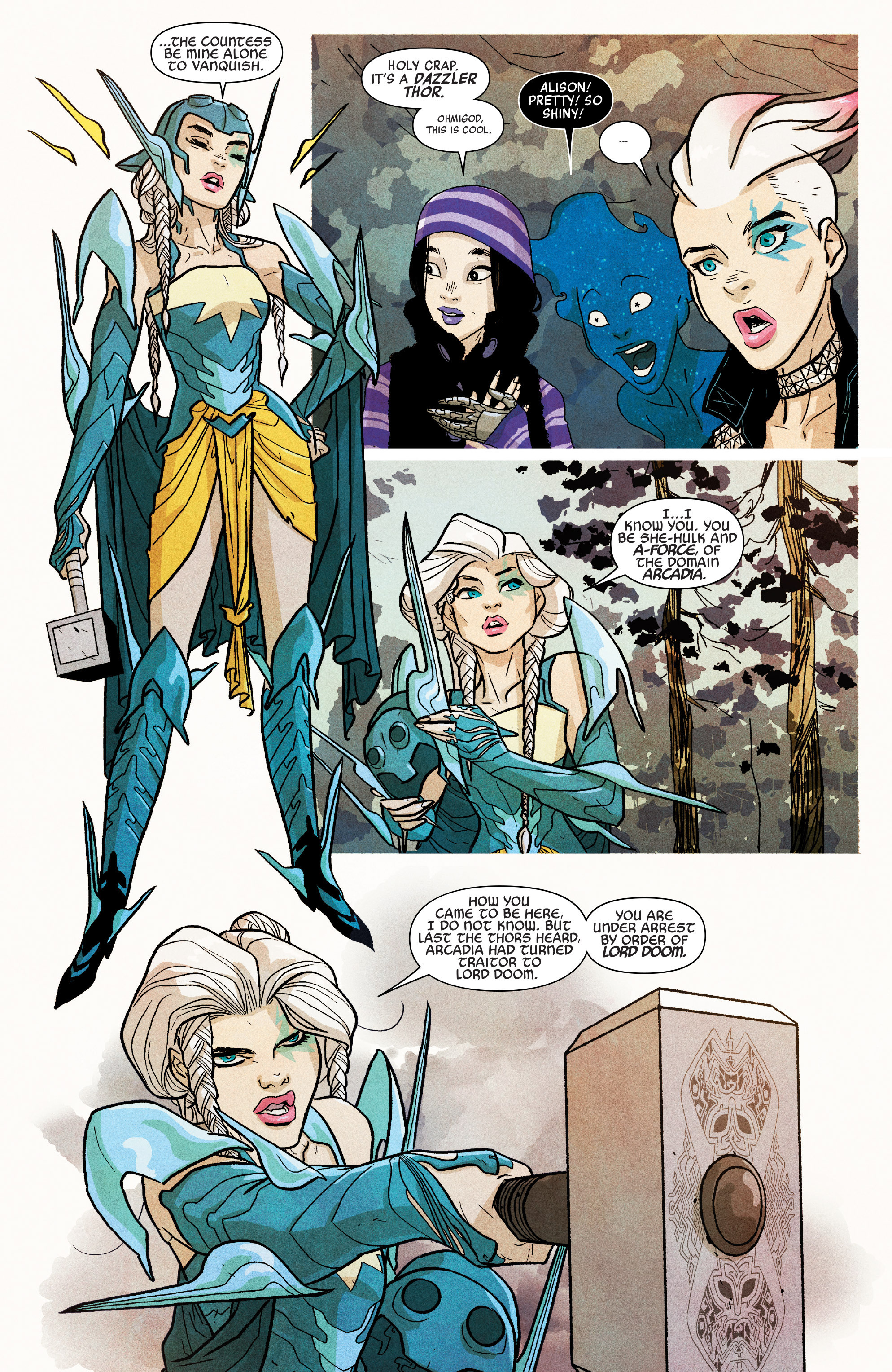 Read online A-Force (2016) comic -  Issue #5 - 8