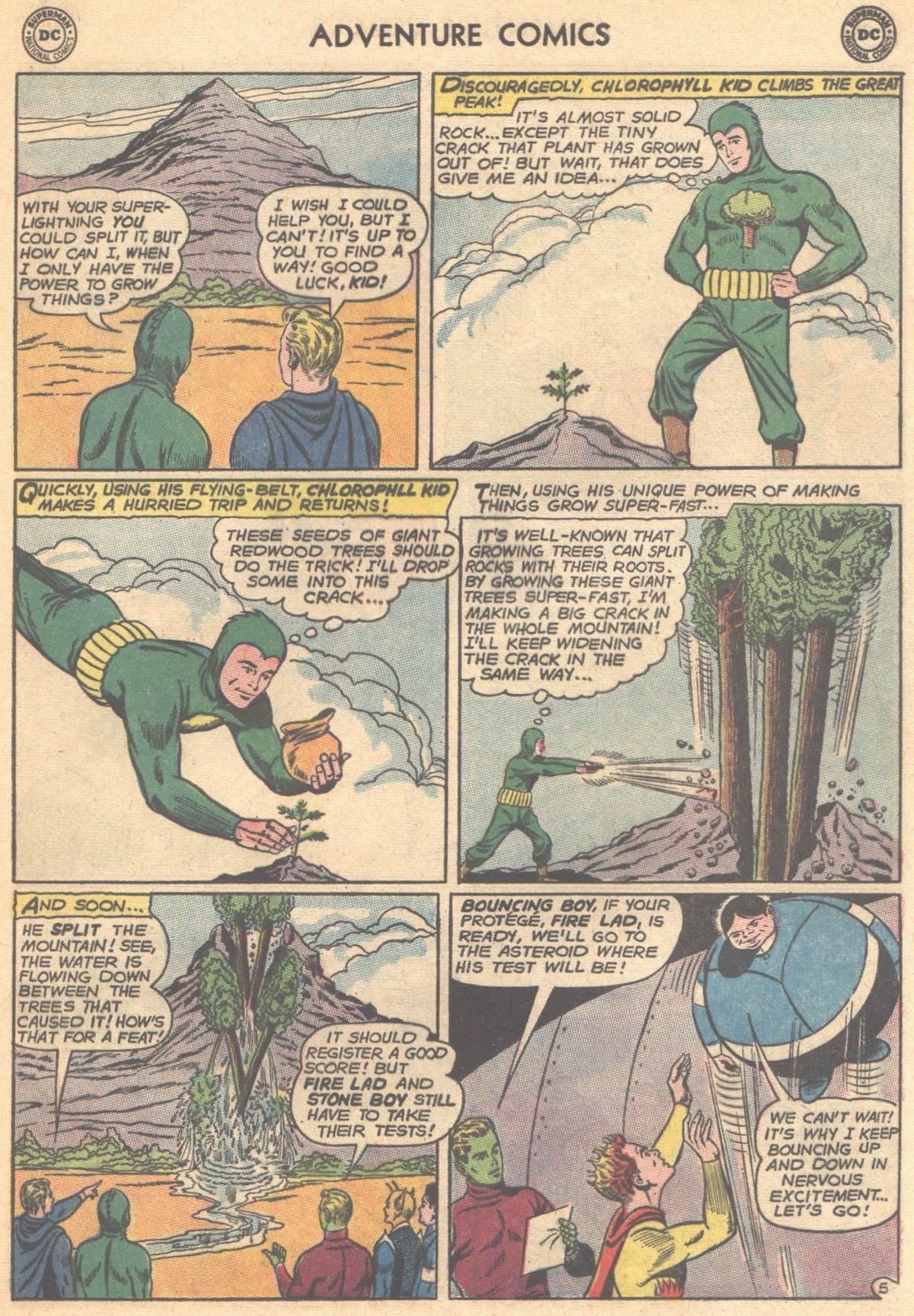 Read online Adventure Comics (1938) comic -  Issue #315 - 17