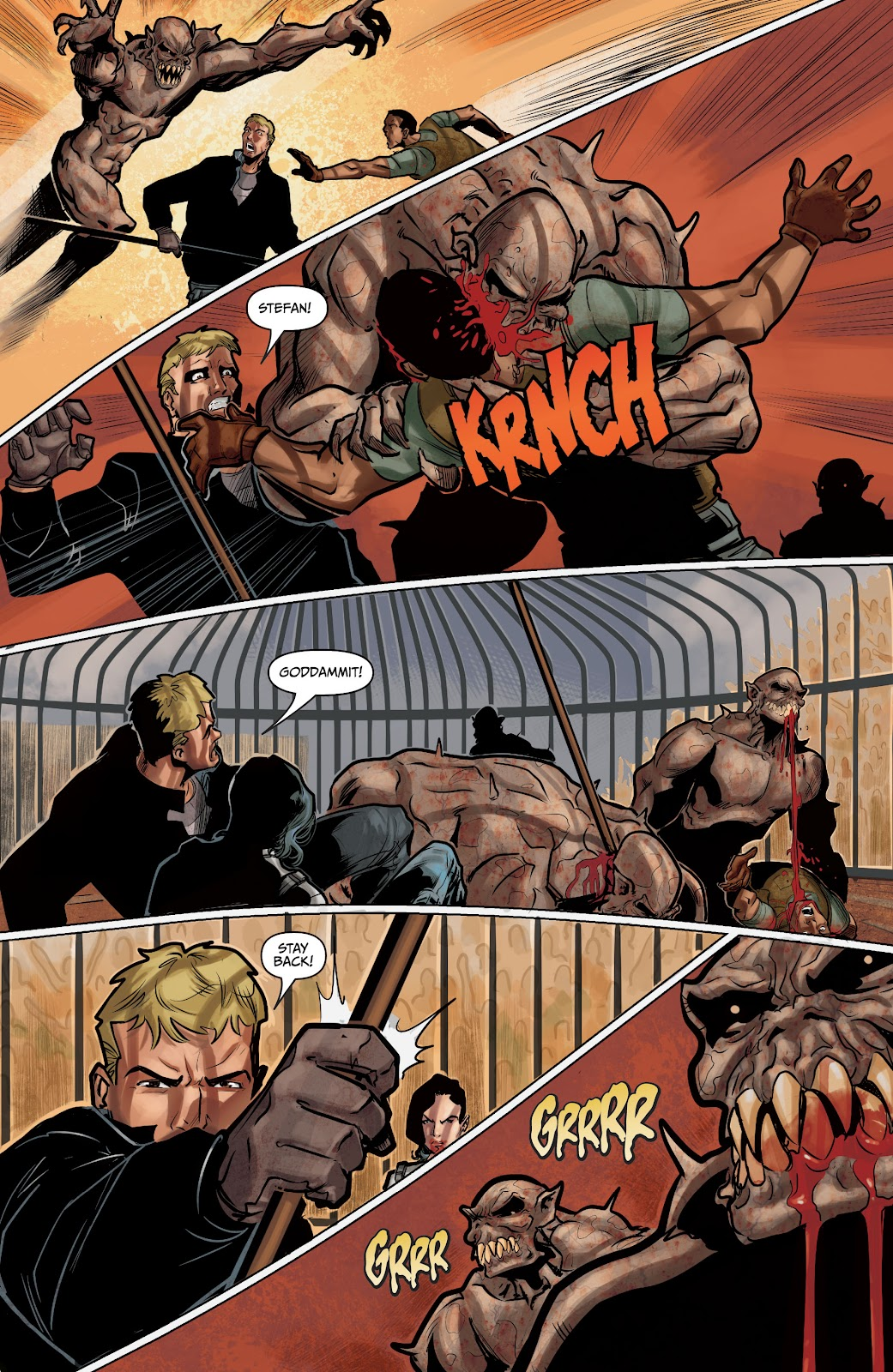 The Courier: Liberty & Death issue 2 - Page 30