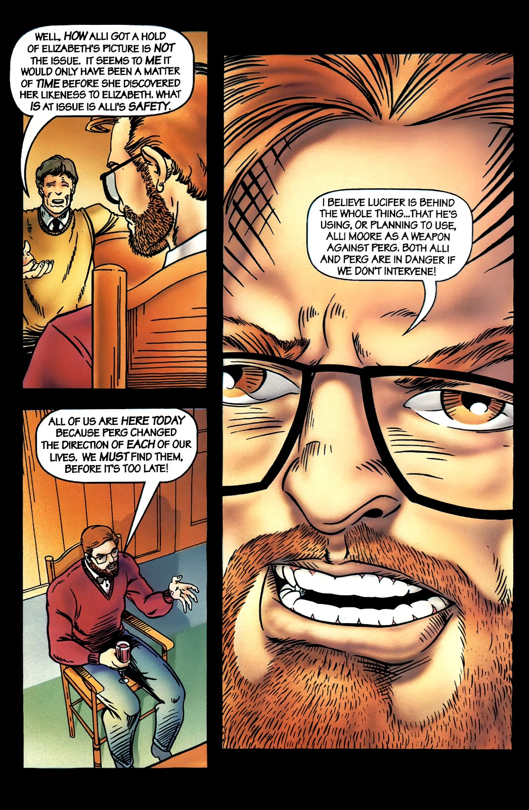 Read online Perg comic -  Issue #4 - 20