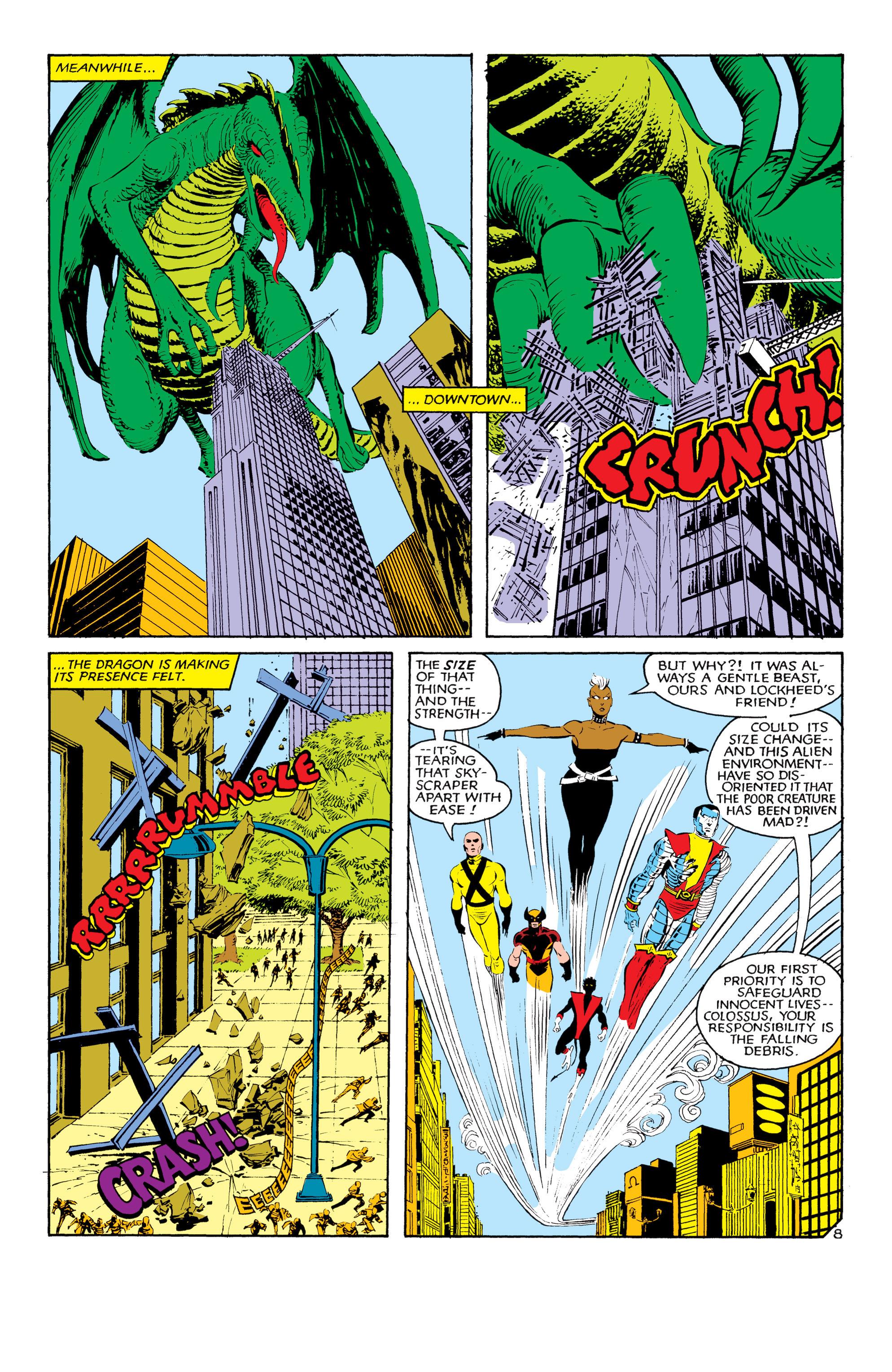 Read online Uncanny X-Men (1963) comic -  Issue #181 - 8