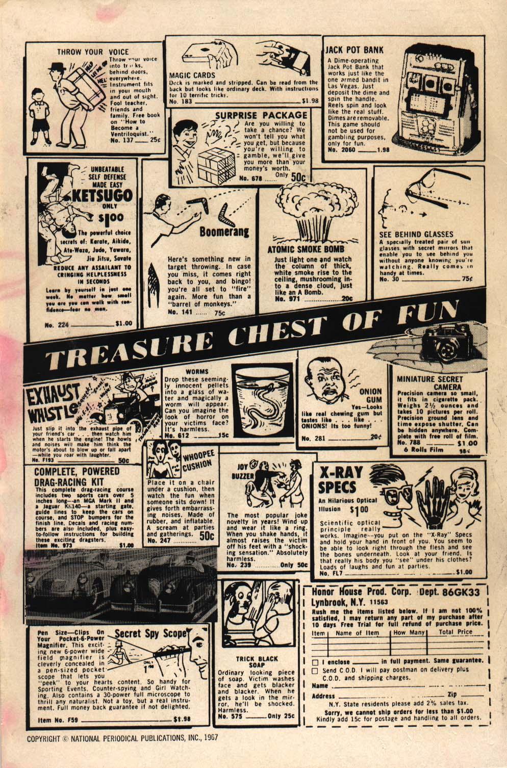 Read online Adventure Comics (1938) comic -  Issue #360 - 2