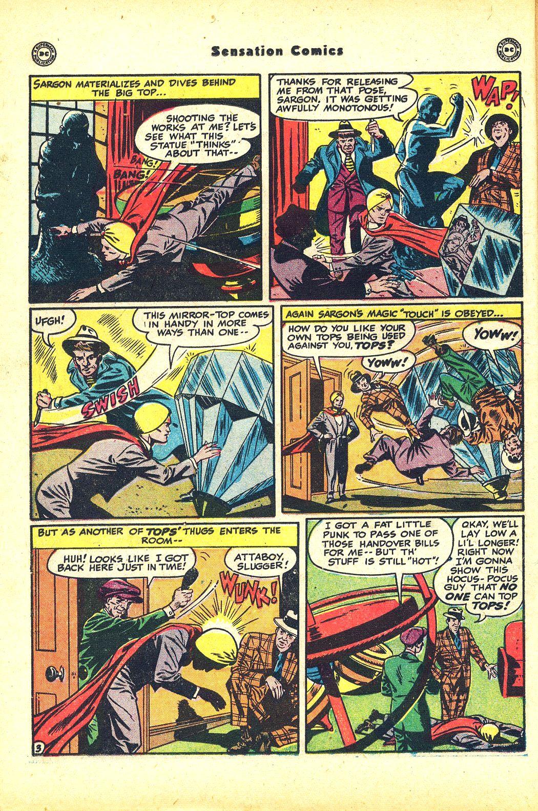 Read online Sensation (Mystery) Comics comic -  Issue #81 - 26
