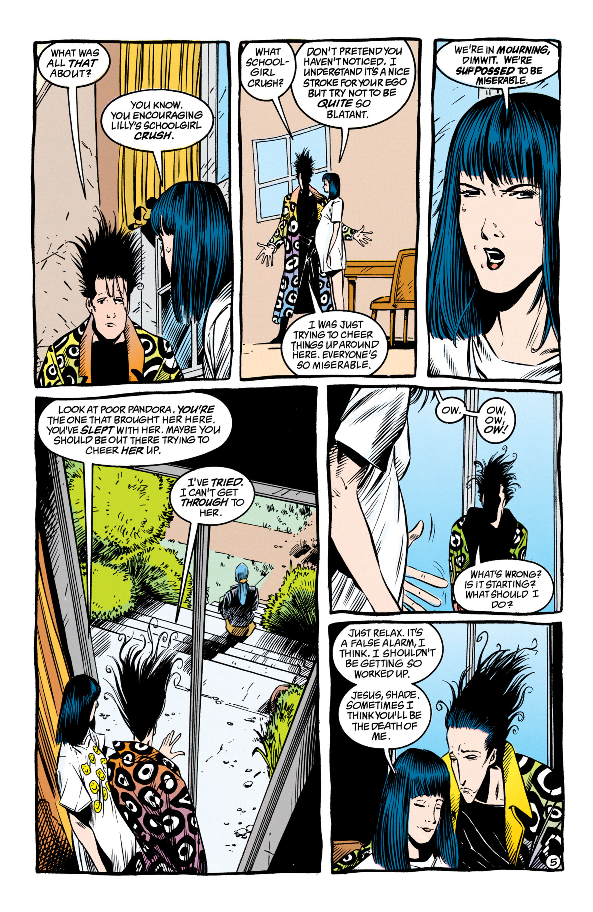 Read online Shade, the Changing Man comic -  Issue #50 - 6