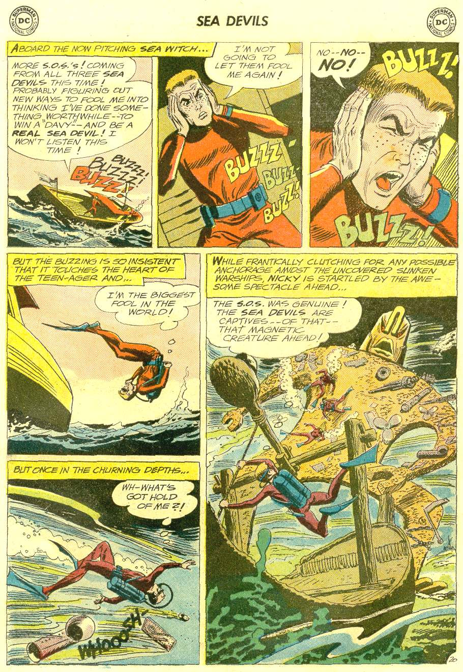 Read online Sea Devils comic -  Issue #12 - 27