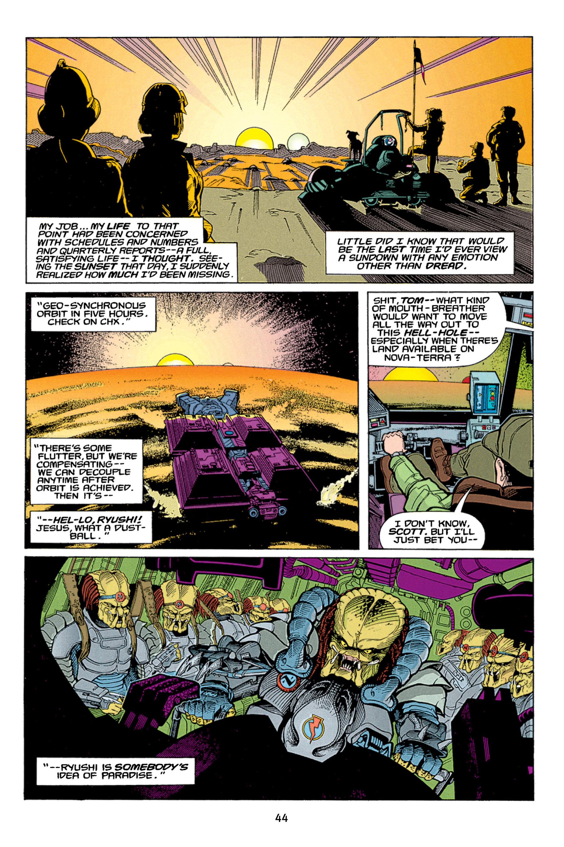 Read online Aliens vs. Predator Omnibus comic -  Issue # _TPB 1 Part 1 - 44