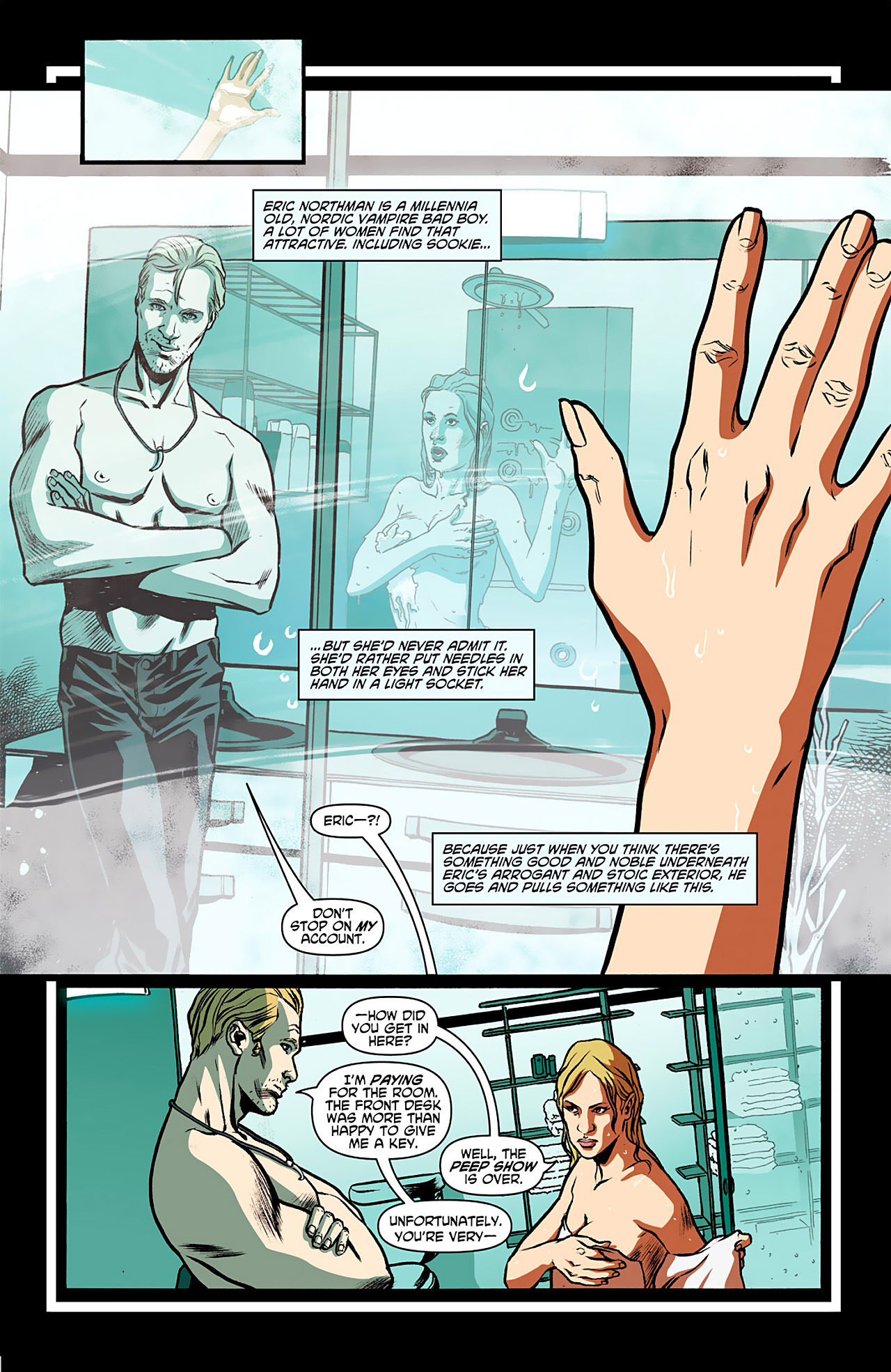 Read online True Blood: French Quarter comic -  Issue #1 - 9
