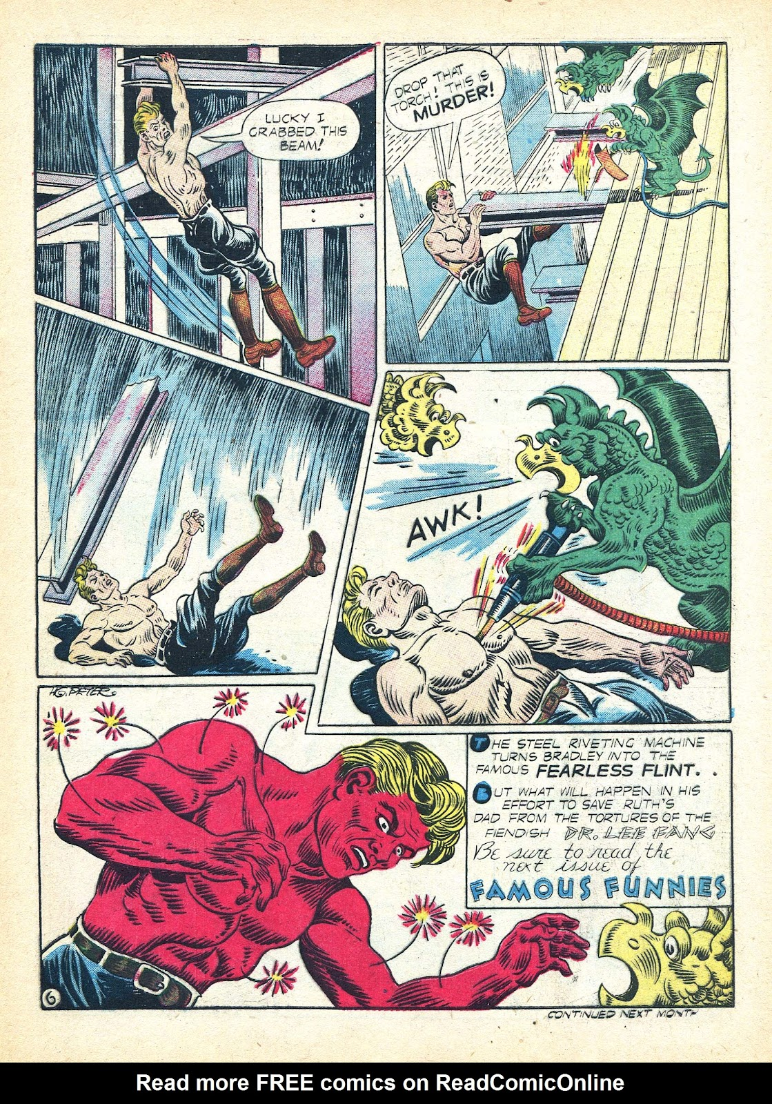 Read online Famous Funnies comic -  Issue #95 - 17