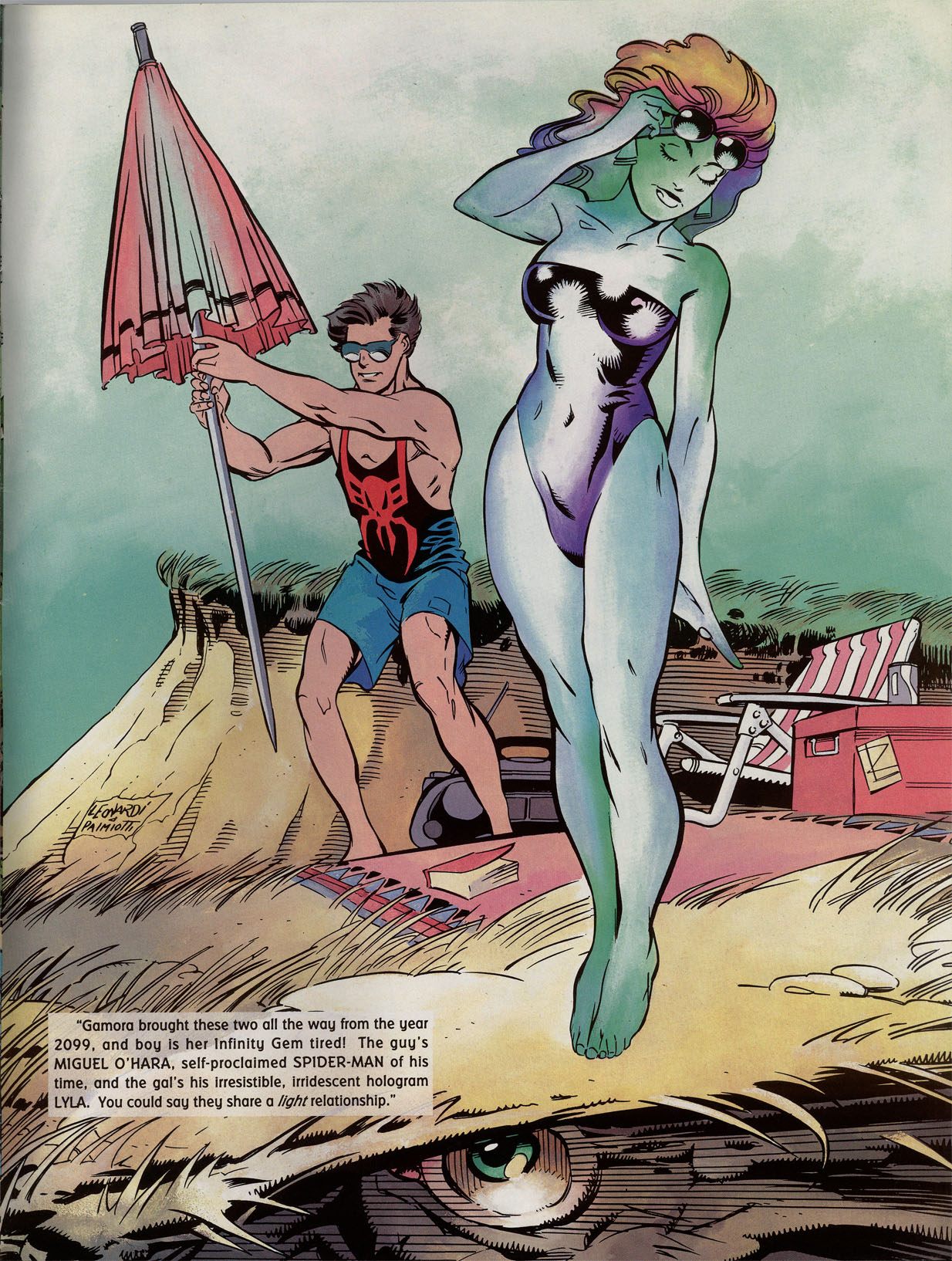 Read online Marvel Swimsuit Special comic -  Issue #2 - 39