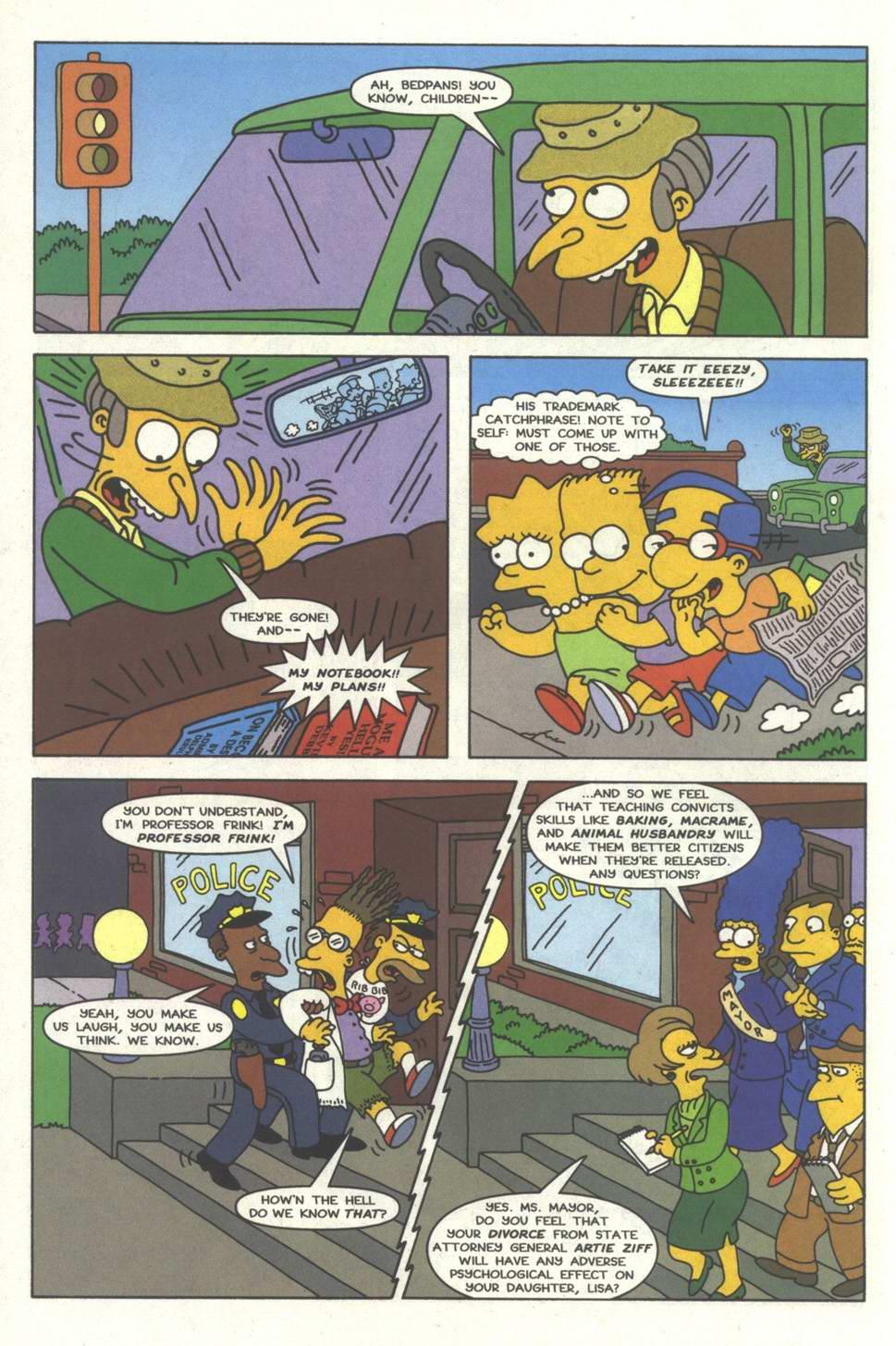 Read online Simpsons Comics comic -  Issue #33 - 11