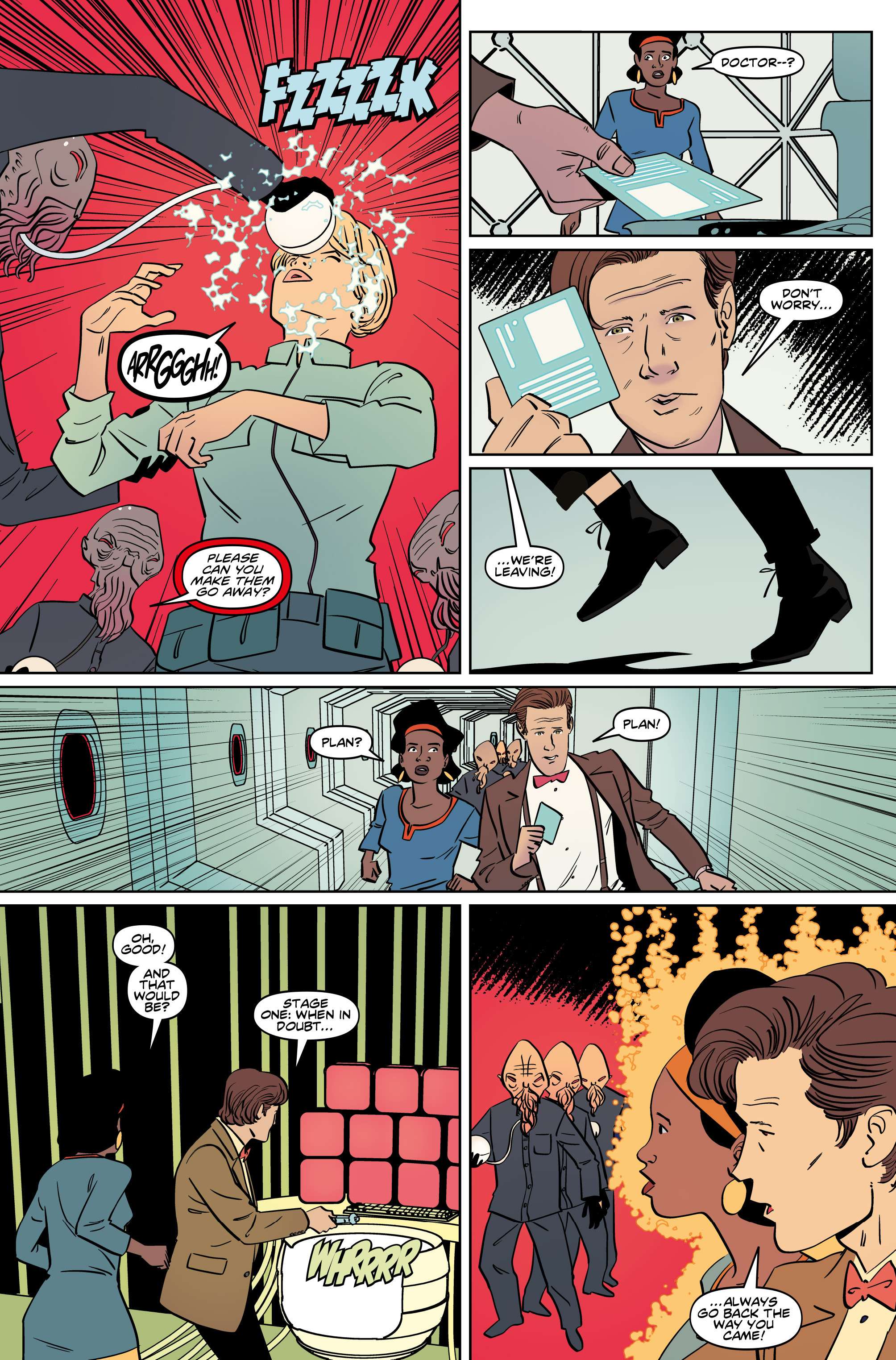Read online Doctor Who: The Eleventh Doctor Year Three comic -  Issue #5 - 20