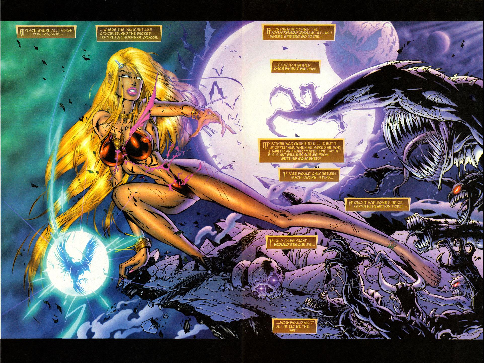 Read online Avengelyne (1996) comic -  Issue #2 - 25