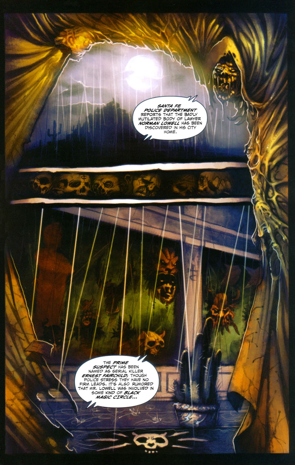 Read online Evil Ernie in Santa Fe comic -  Issue #2 - 4