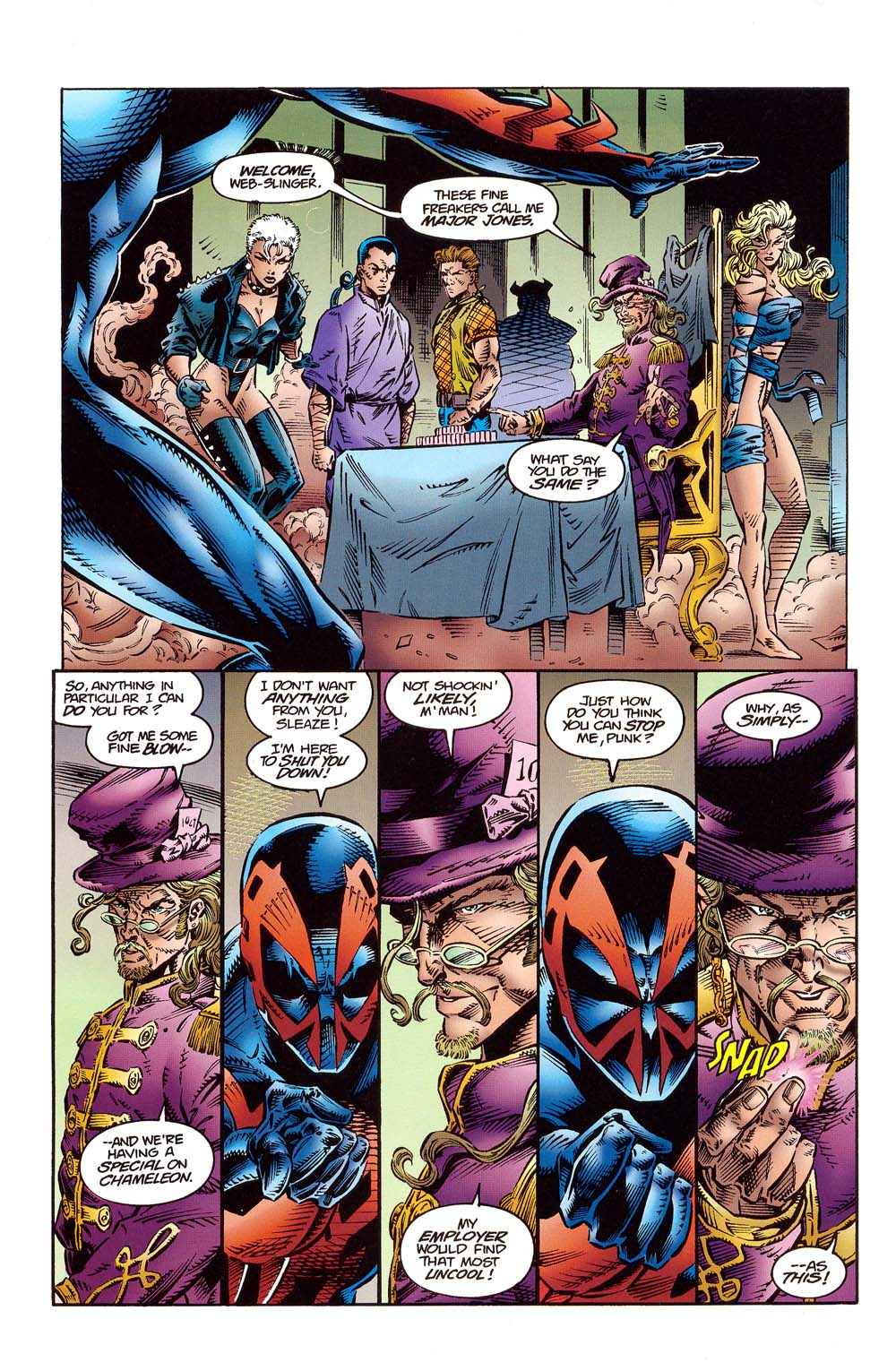 Read online 2099 Unlimited comic -  Issue #10 - 17
