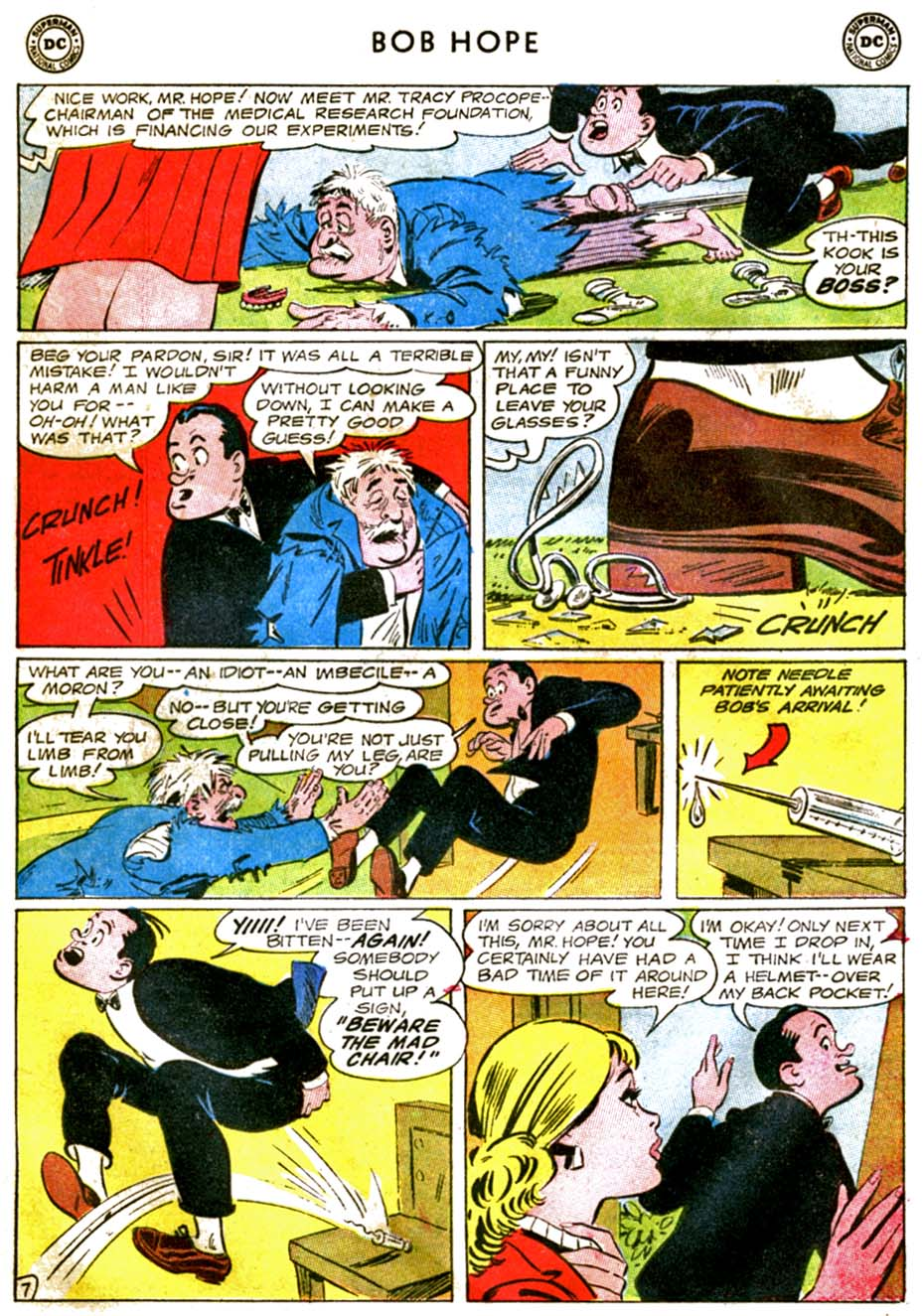 The Adventures of Bob Hope issue 92 - Page 9