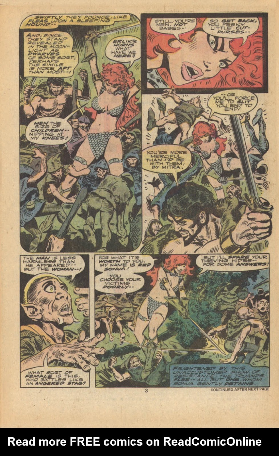 Red Sonja (1977) issue 5 - Page 4
