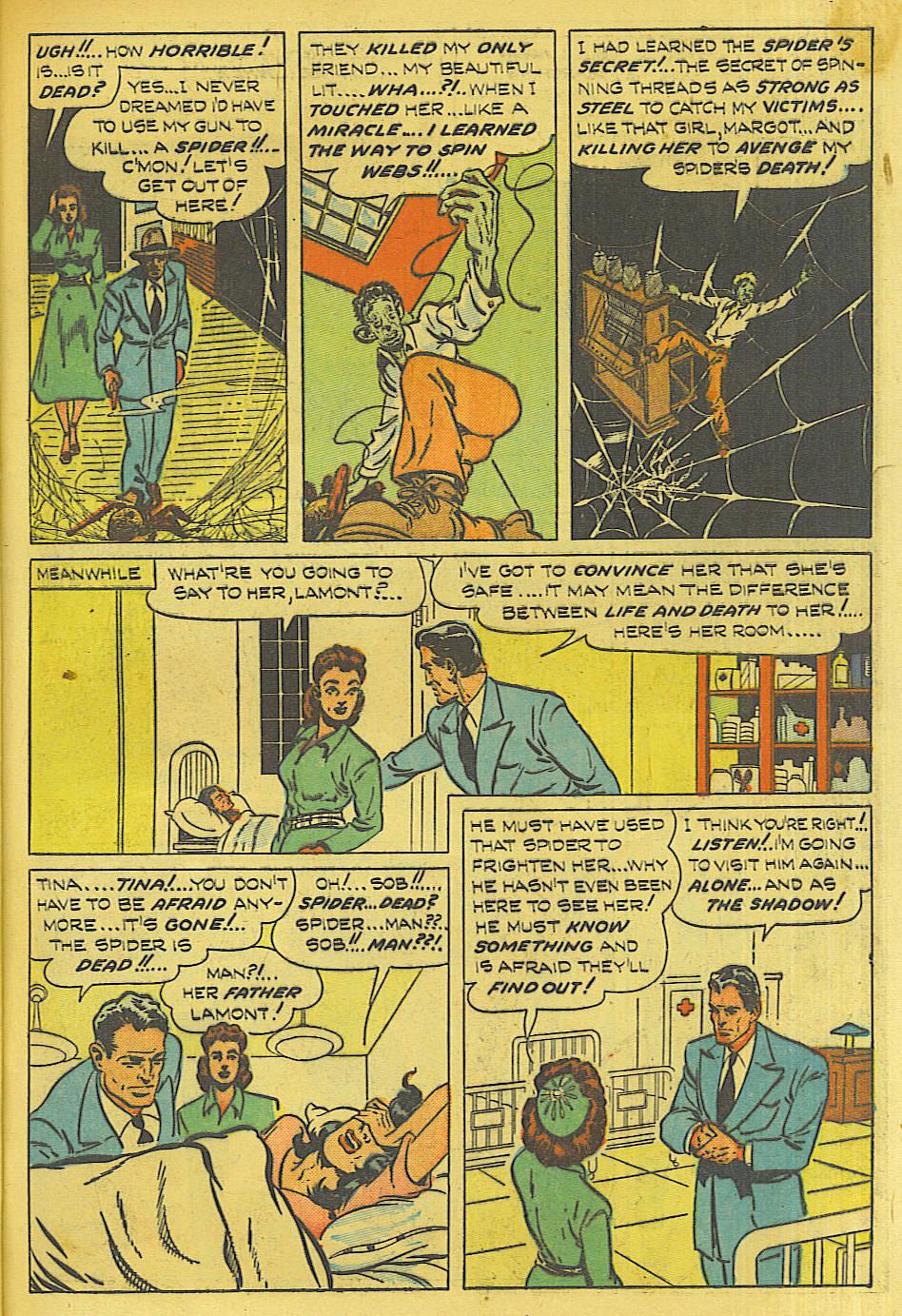 Read online Shadow Comics comic -  Issue #87 - 10