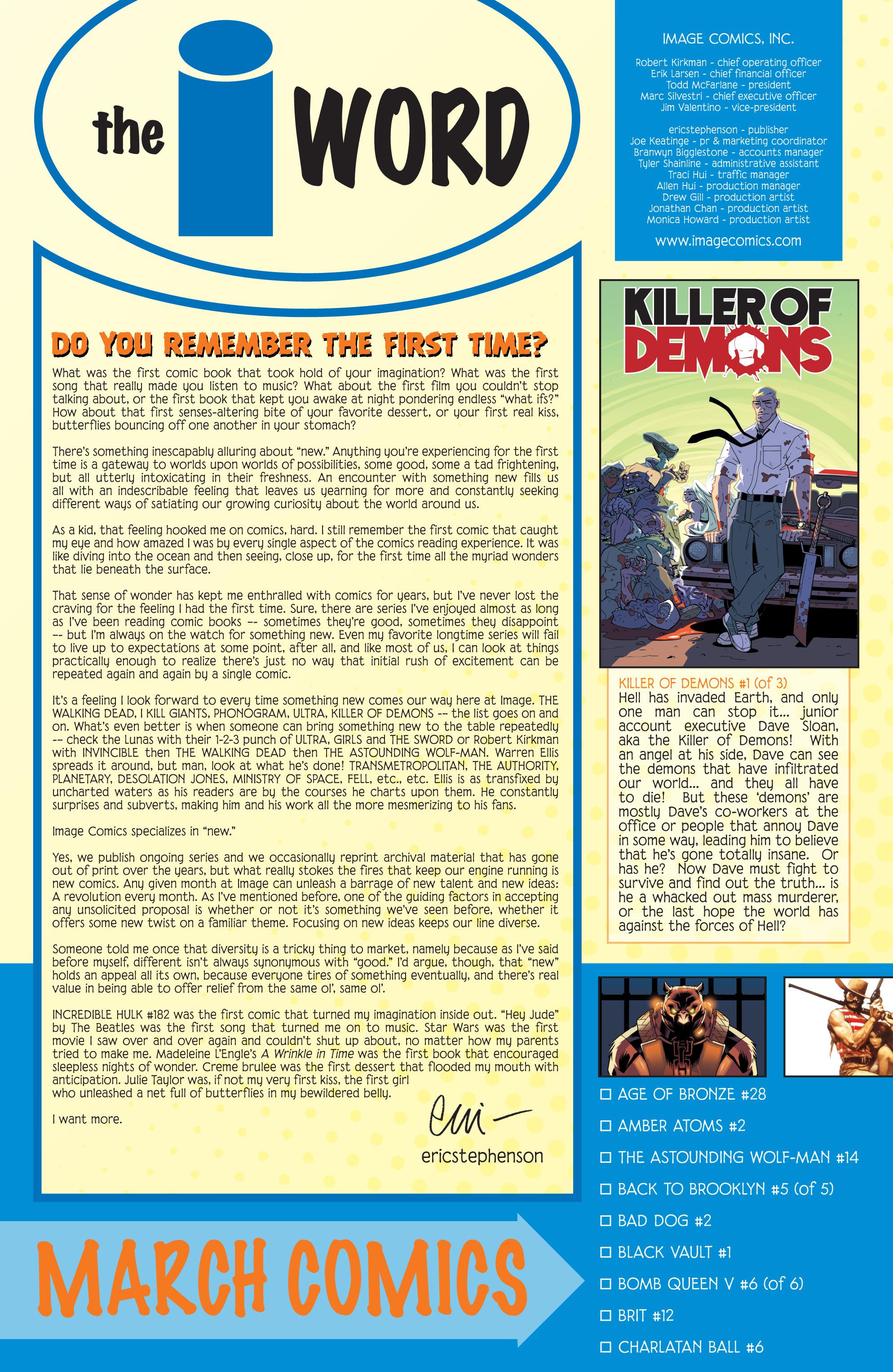 Read online Killer Of Demons comic -  Issue #1 - 37