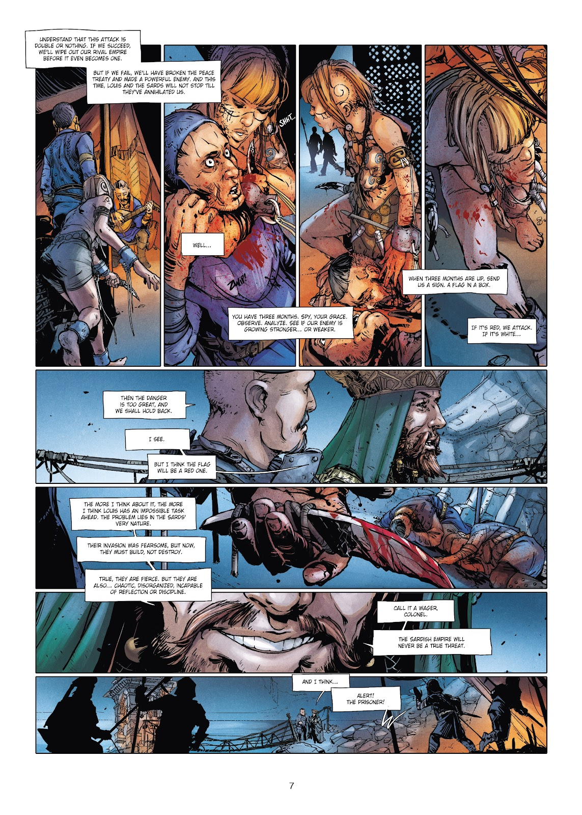 Read online Chronicles of the Dragon Knights comic -  Issue #20 - 7