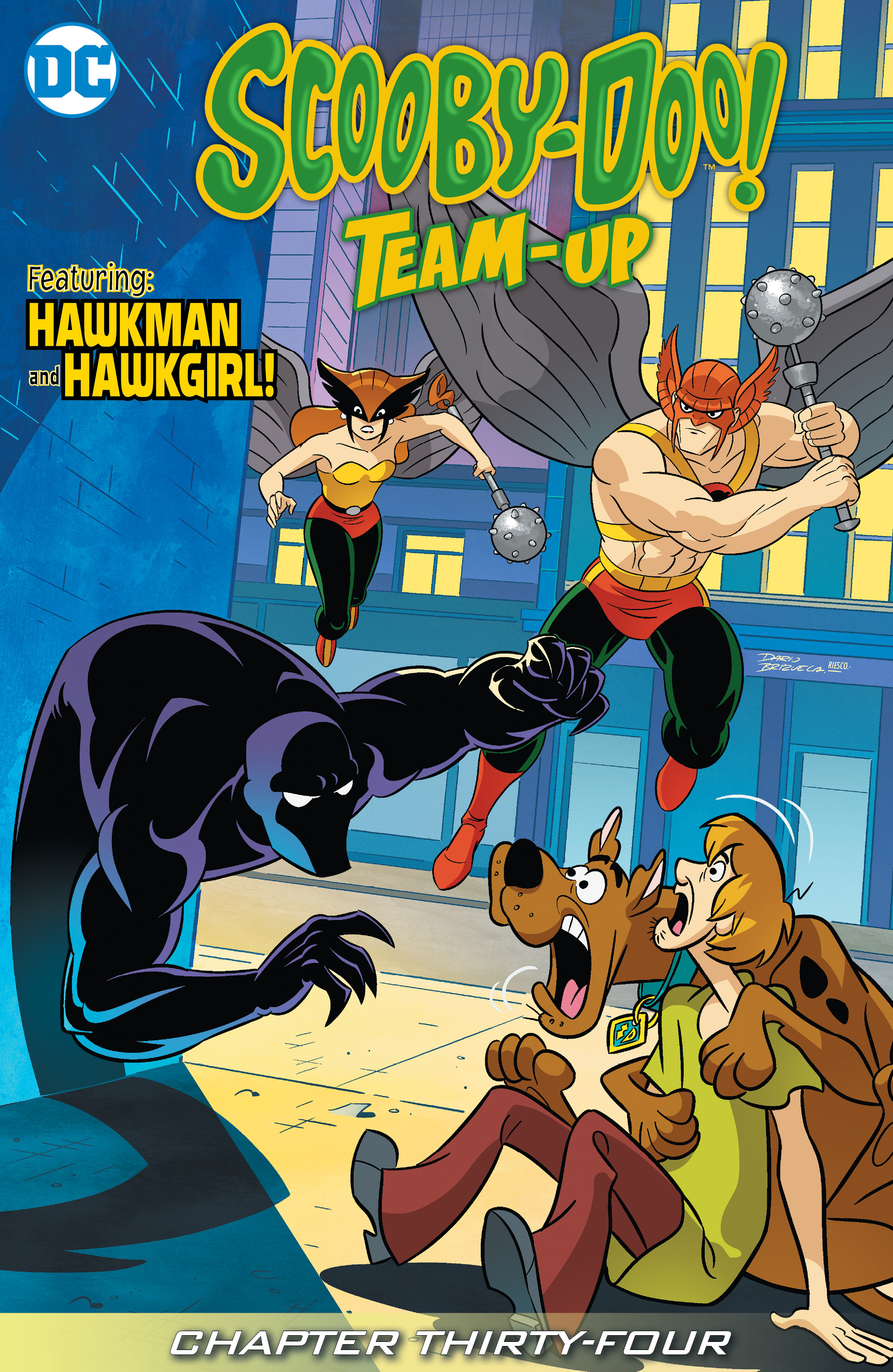 Read online Scooby-Doo! Team-Up comic -  Issue #34 - 2